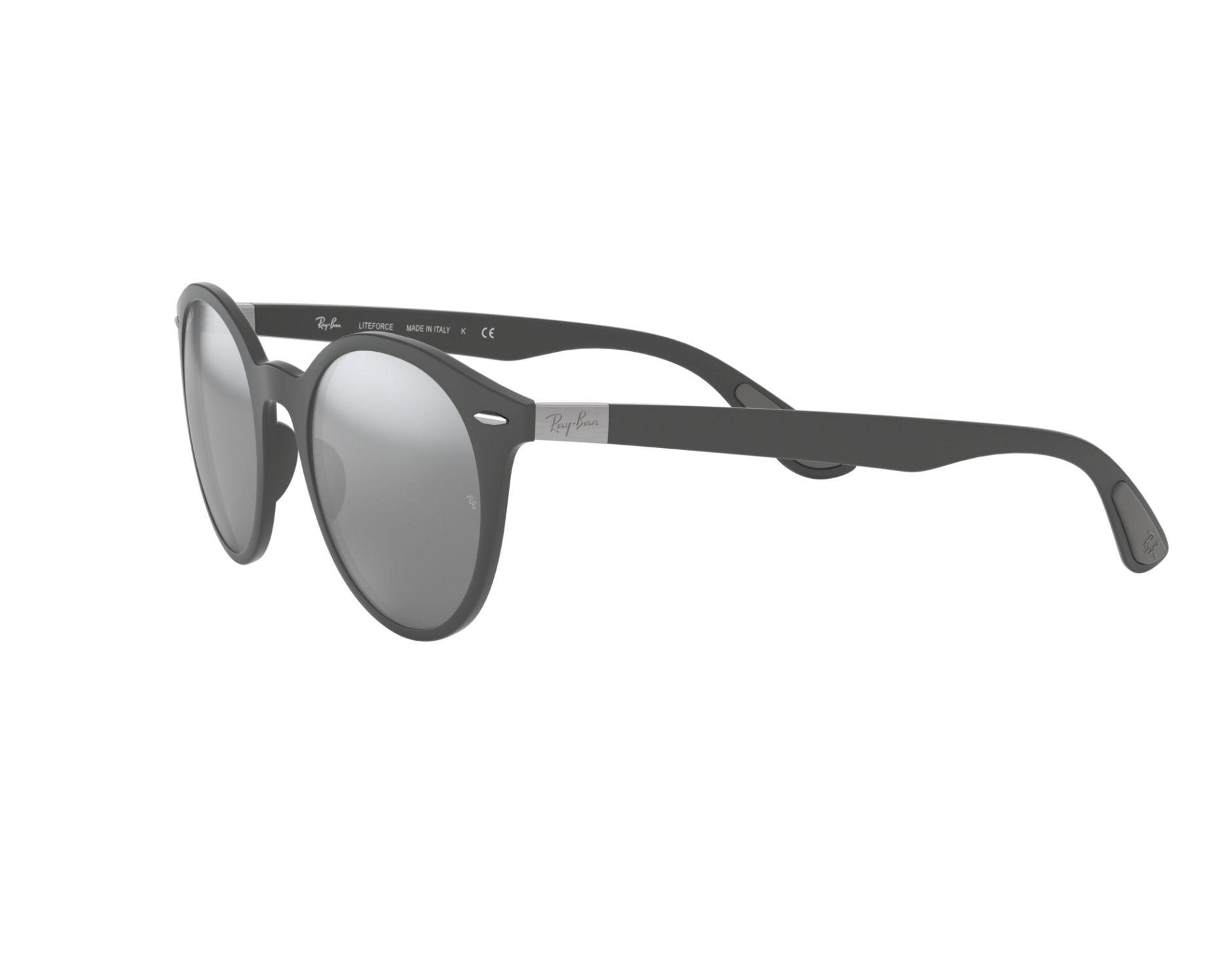 4929f3b7a6 Sunglasses Ray-Ban RB-4296 633288 51-21 Grey 360 degree view 3