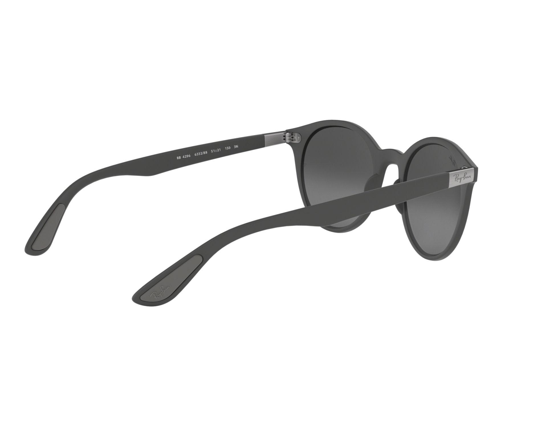Sunglasses Ray-Ban RB-4296 633288 51-21 Grey 360 degree view 9 c2c574f6c3