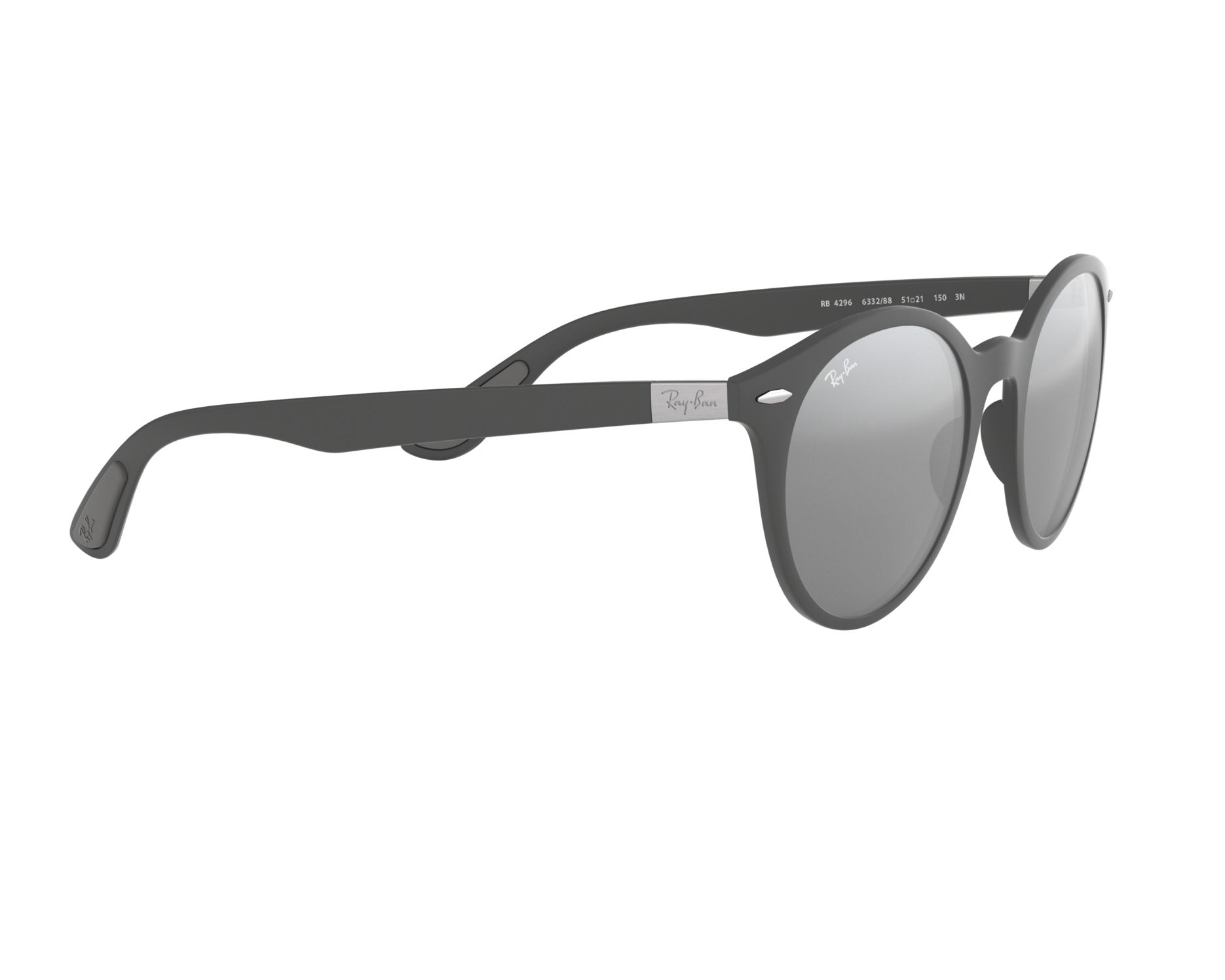 Sunglasses Ray-Ban RB-4296 633288 51-21 Grey 360 degree view 11 afb39de810
