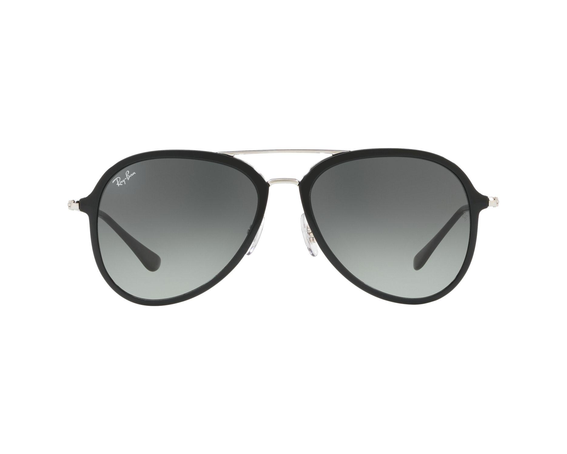 791719c8b0 Sunglasses Ray-Ban RB-4298 601 71 57-17 Black Silver 360