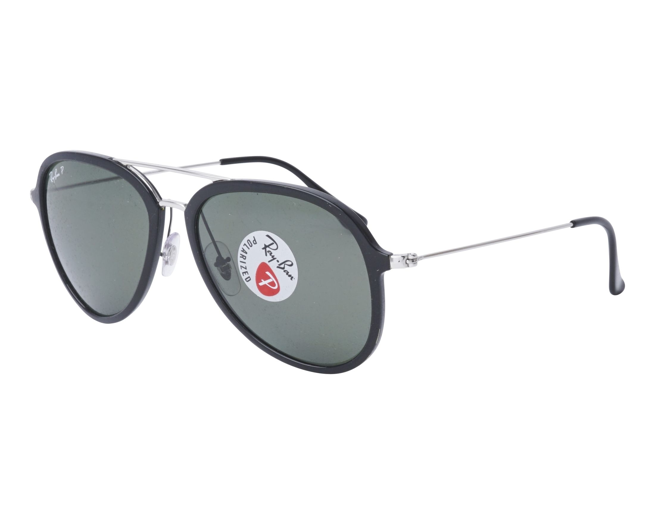 Sunglasses Ray-Ban RB-4298 601 9A 57-17 Black Silver profile 79be0ae7a9