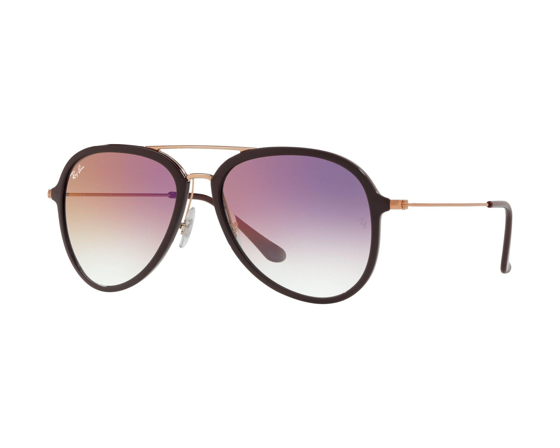 1fbbdd90767 Sunglasses Ray-Ban RB-4298 6335S5 57-17 Bordeaux Gold