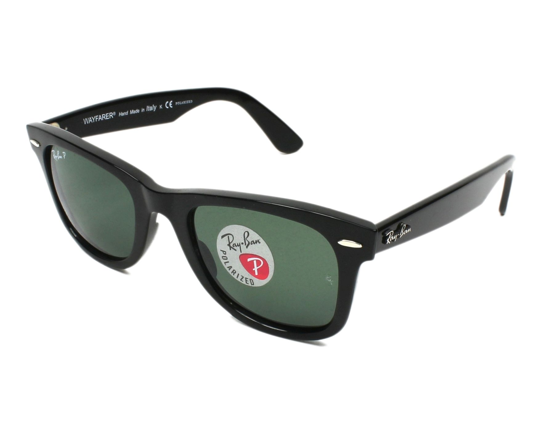 f4fad6a82129b Sunglasses Ray-Ban RB-4340 601 58 50-22 Black profile view