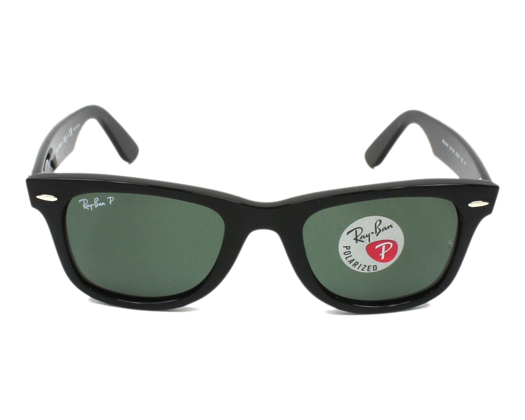 ad8854f978cf4 Sunglasses Ray-Ban RB-4340 601 58 50-22 Black front view