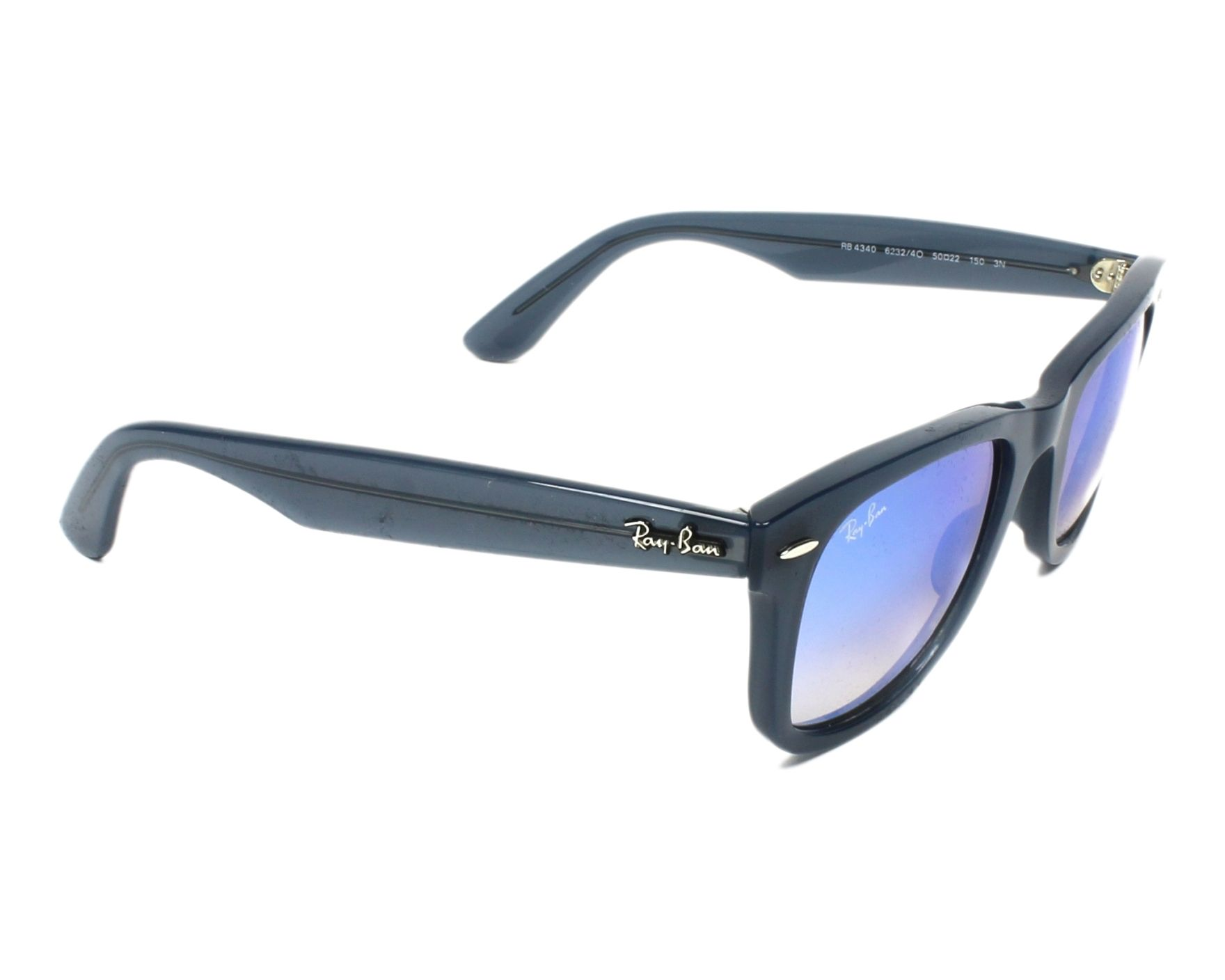 110e185c5c Sunglasses Ray-Ban RB-4340 62324O - Blue side view