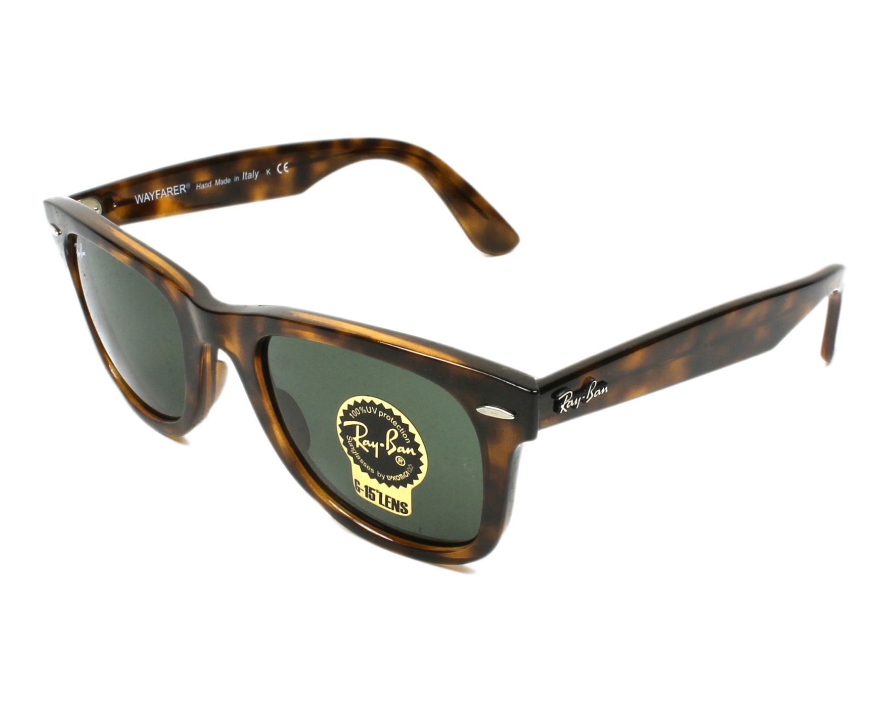 Sunglasses Ray-Ban RB-4340 710 50-22 Havana profile view e27eeef15e1
