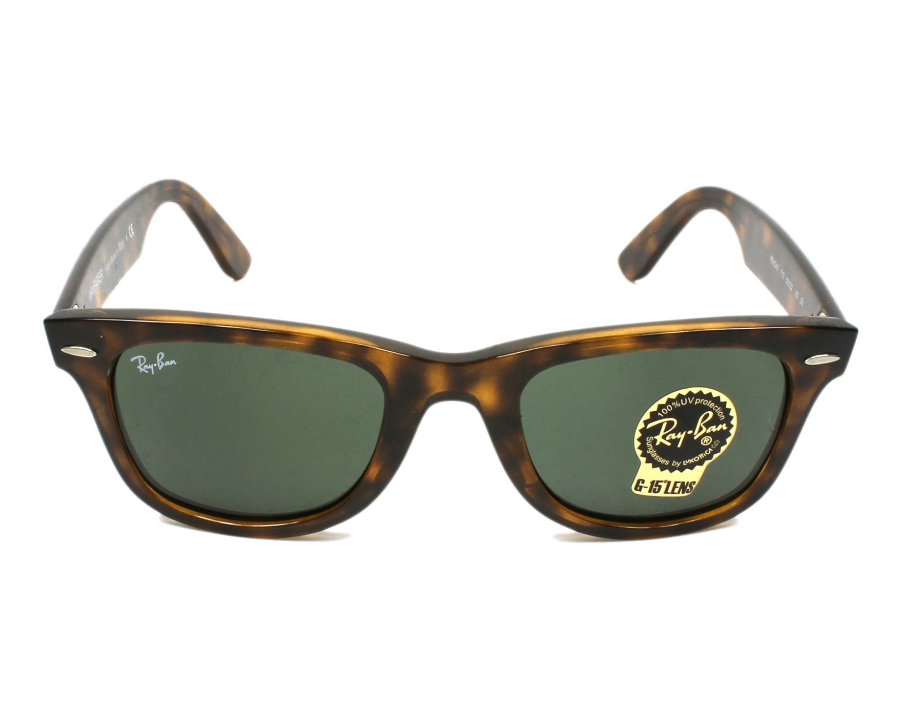 Sunglasses Ray-Ban RB-4340 710 50-22 Havana front view 9bcd4e09f25