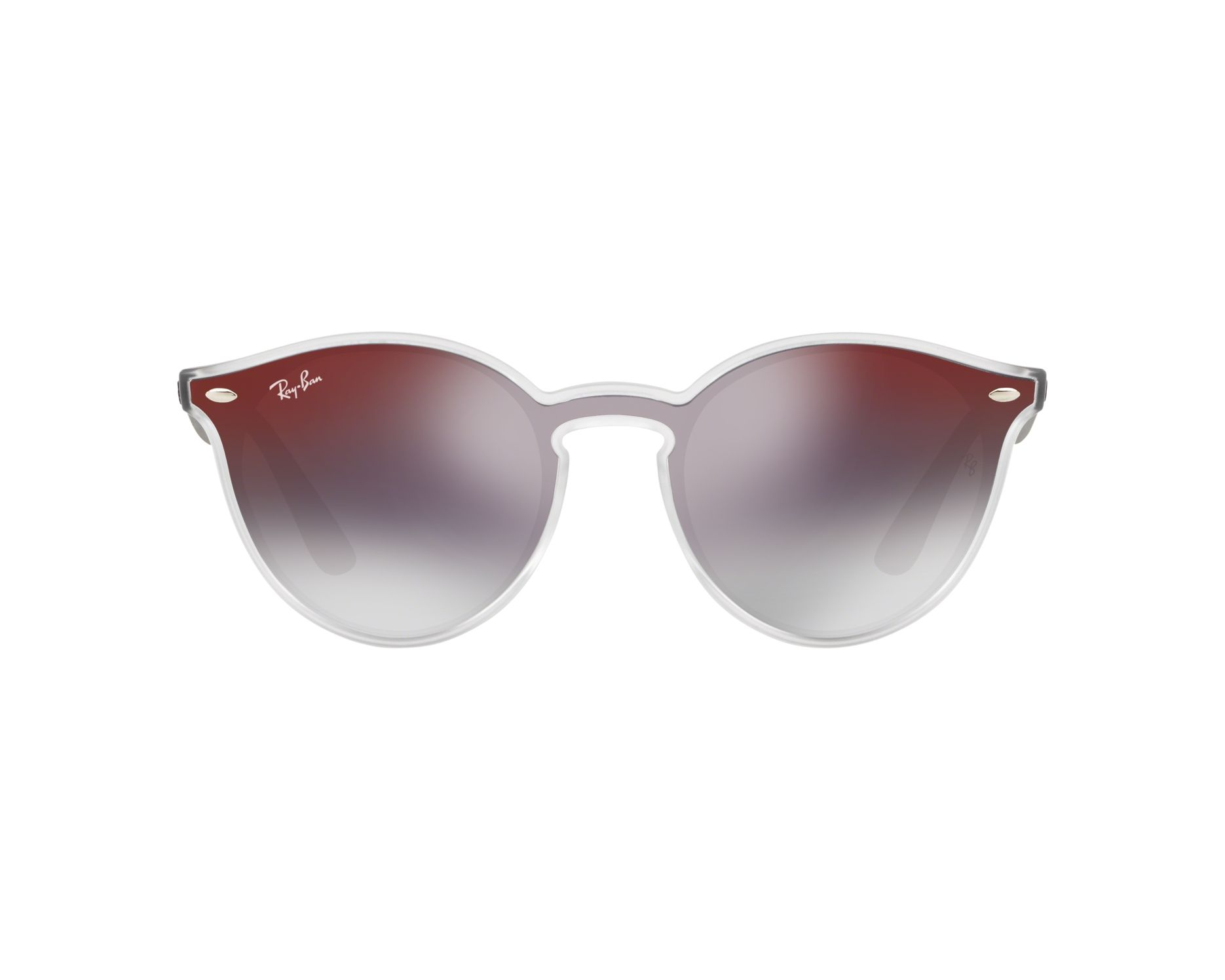 638f4fe942 Sunglasses Ray-Ban RB-4380-N 6355U0 55-18 Crystal Black 360