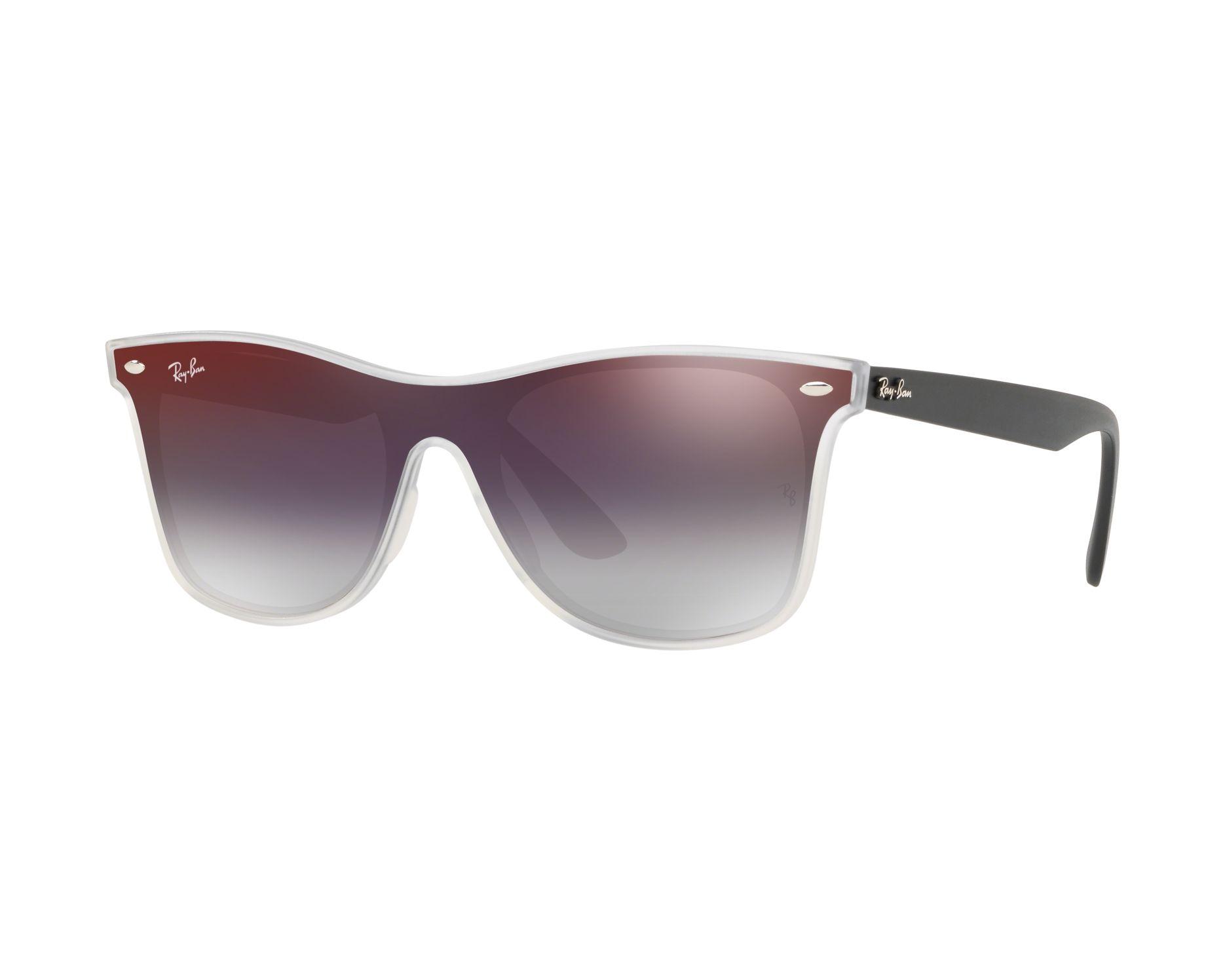 37549318401 Sunglasses Ray-Ban RB-4440-N 6355U0 55-18 Crystal Black