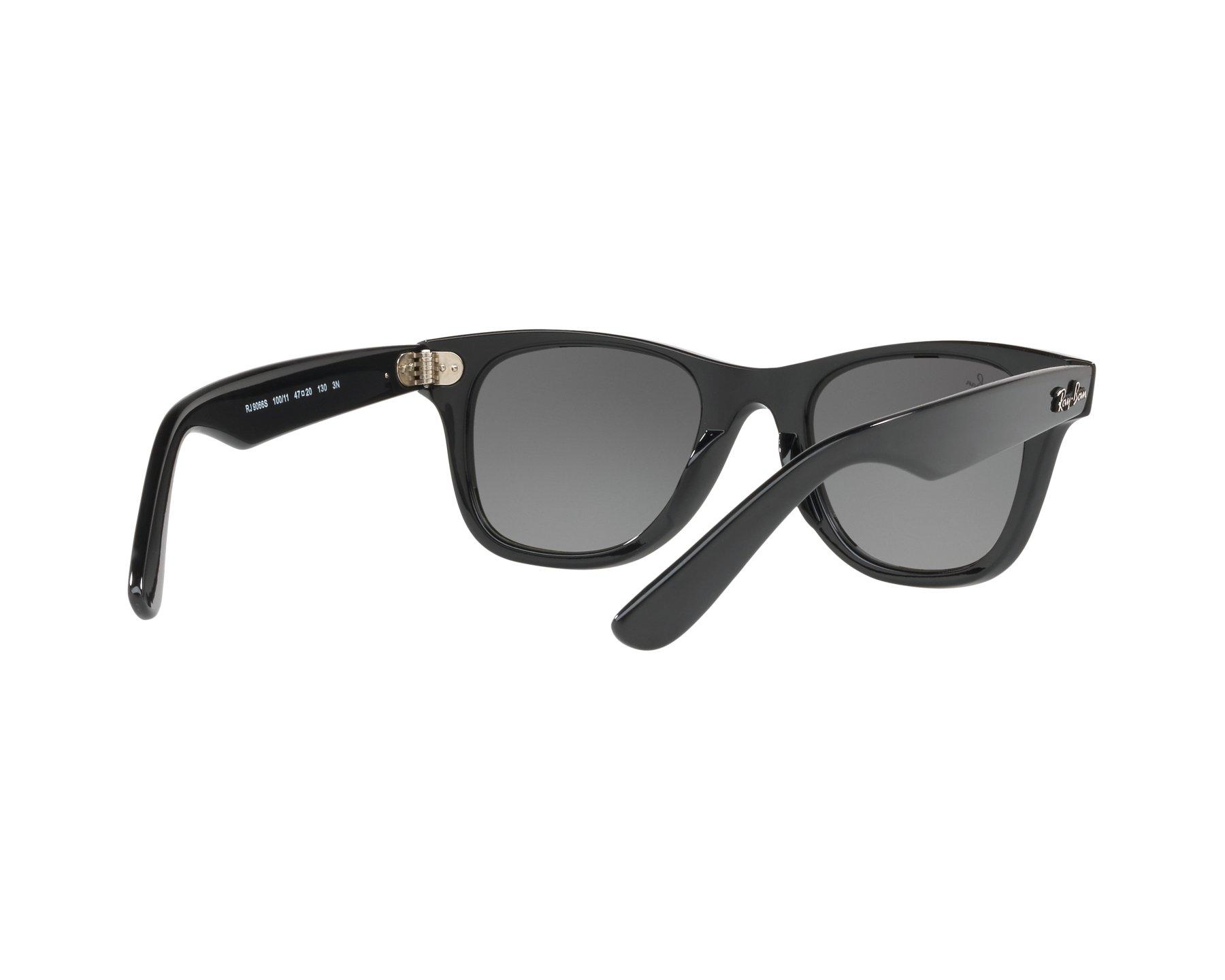 Sunglasses Ray-Ban RJ-9066-S 100 11 - Black 360 degree ec79669e99993