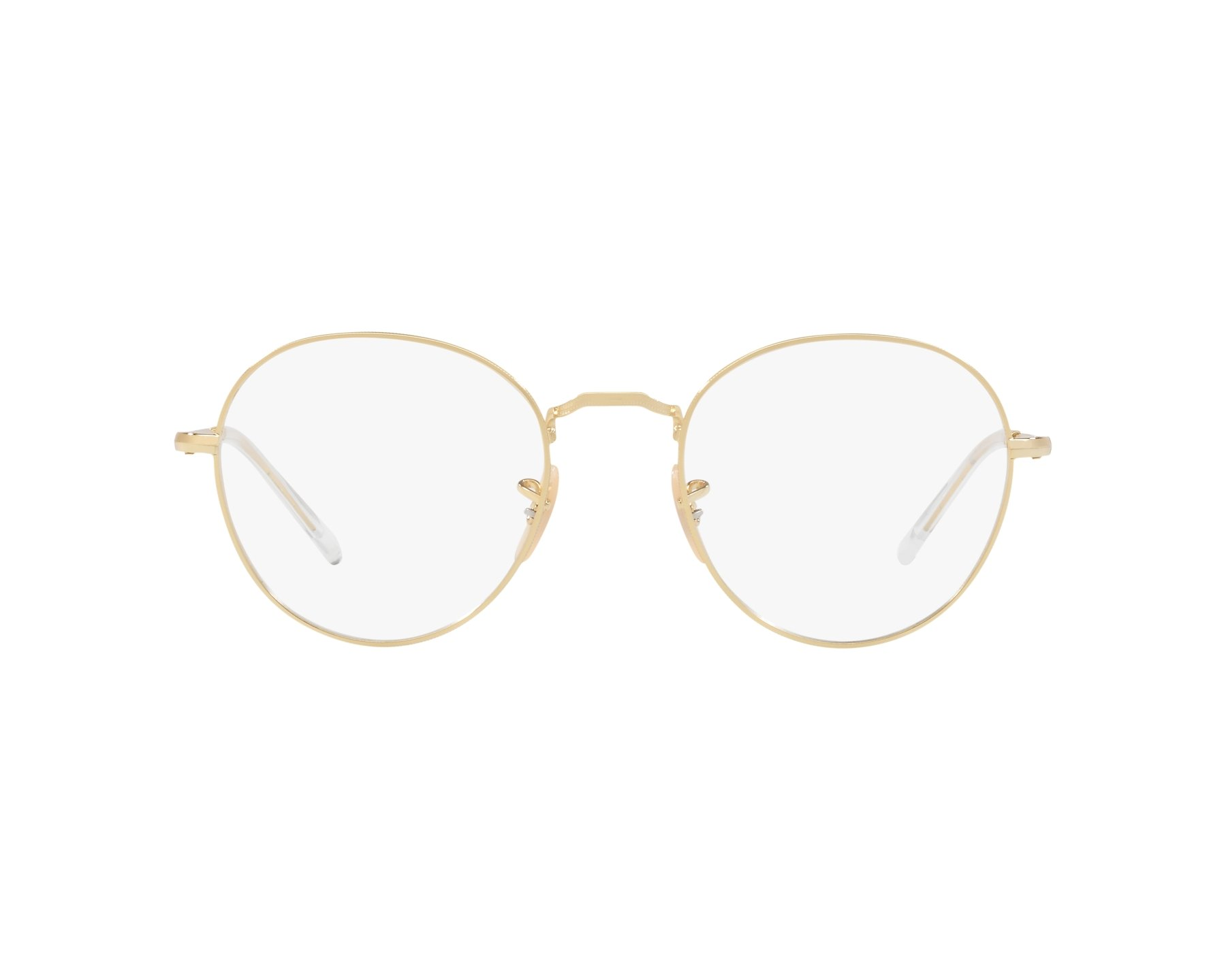 50196e9a84f eyeglasses Ray-Ban RX-3582-V 2500 49-20 Gold 360 degree