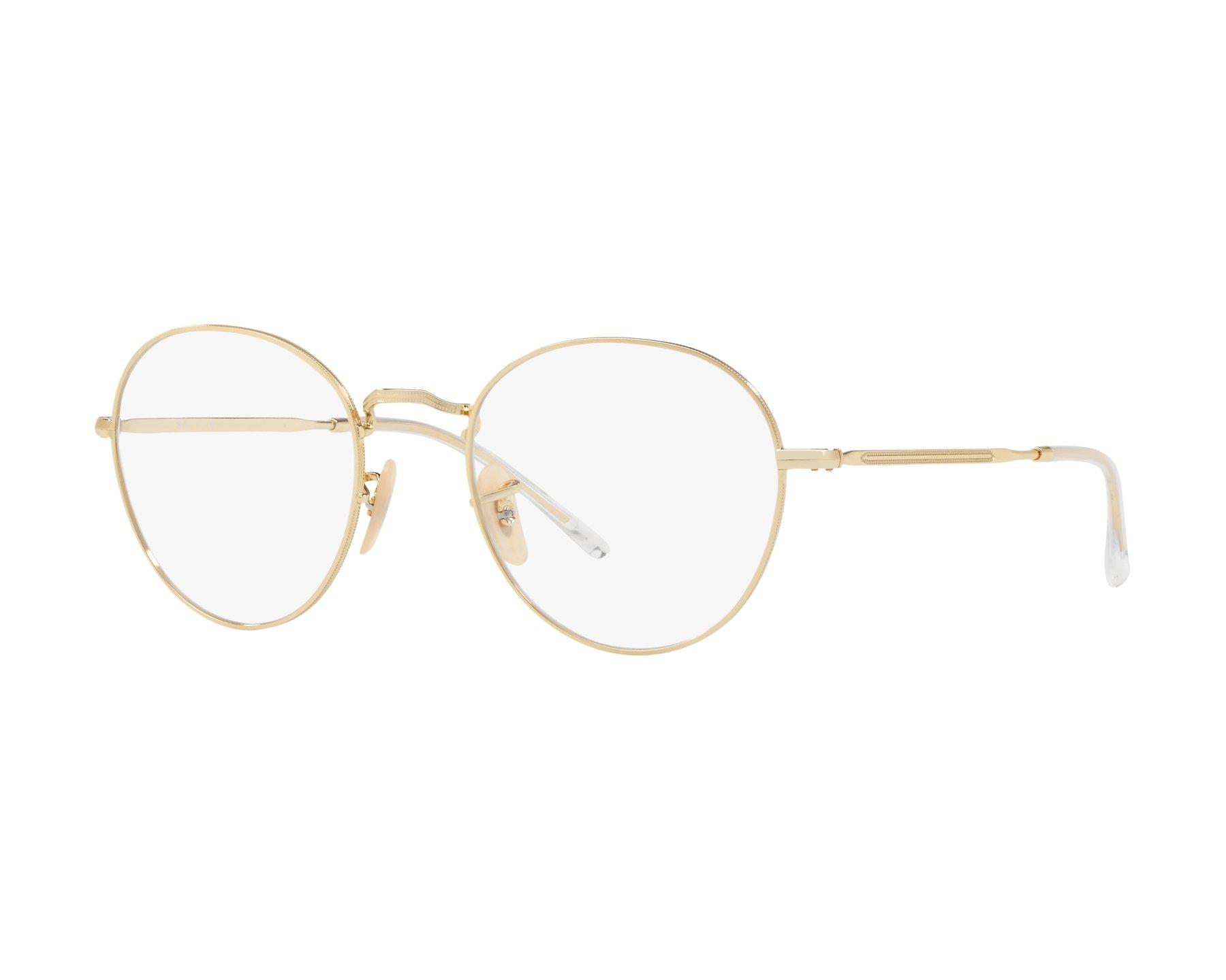 683f678a8d eyeglasses Ray-Ban RX-3582-V 2500 49-20 Gold