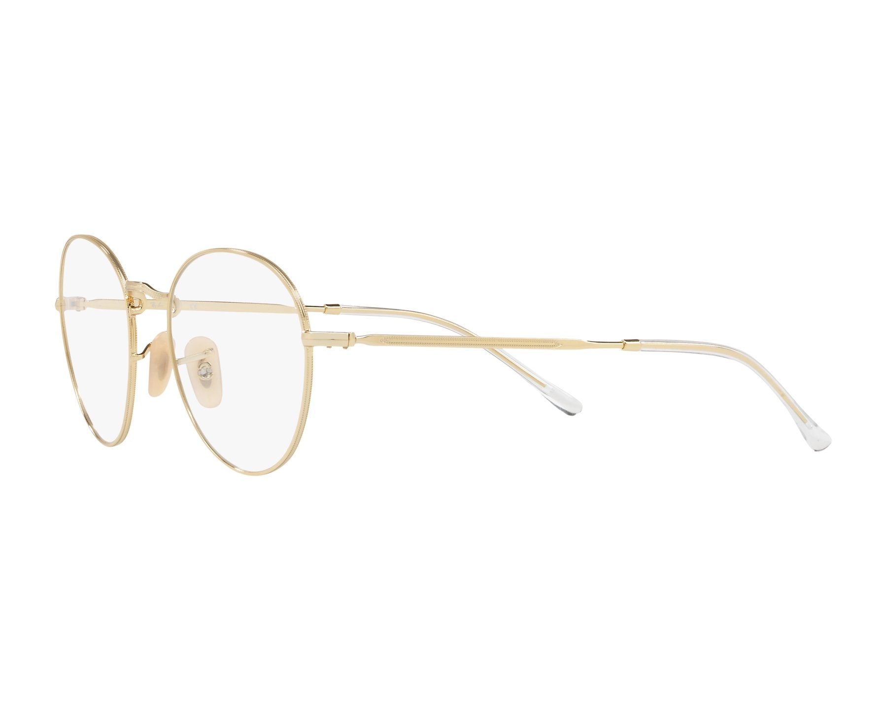 f1a2334a91 eyeglasses Ray-Ban RX-3582-V 2500 49-20 Gold 360 degree