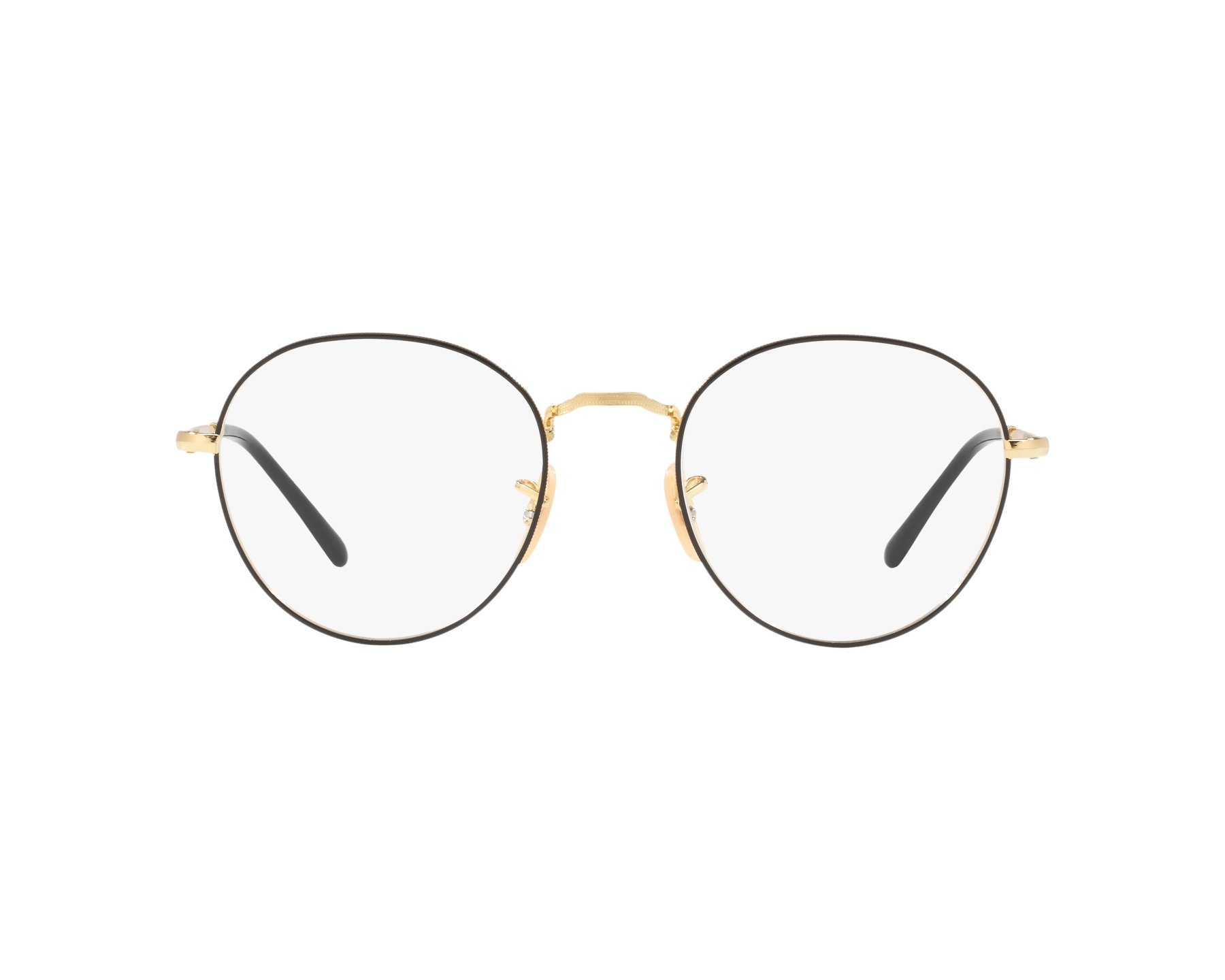 64e4f41531 eyeglasses Ray-Ban RX-3582-V 2946 49-20 Black Gold 360