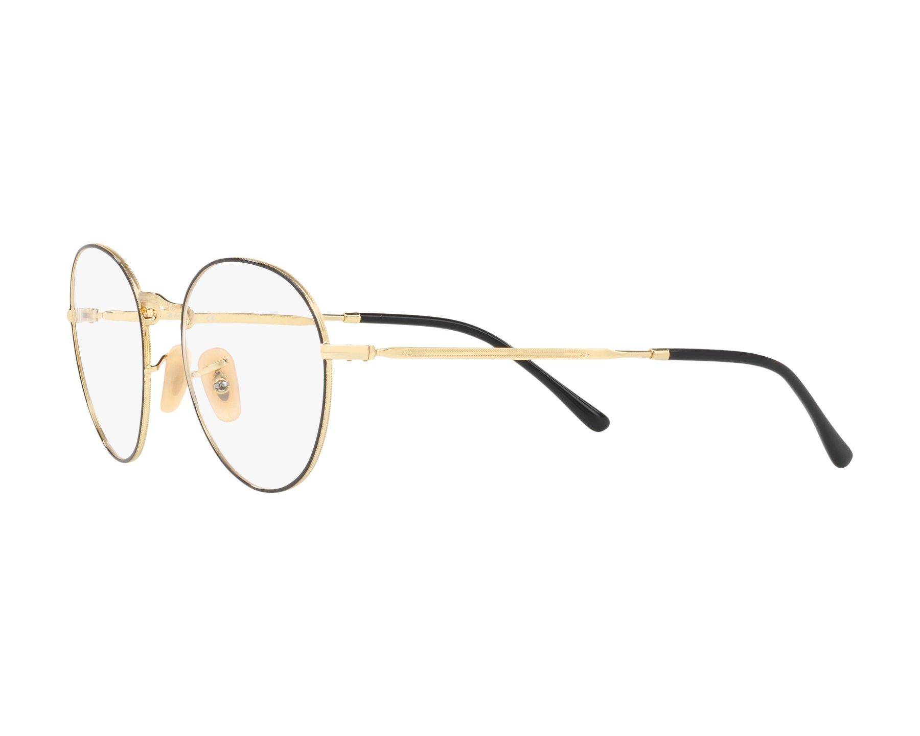 f90c340f87 eyeglasses Ray-Ban RX-3582-V 2946 49-20 Black Gold 360