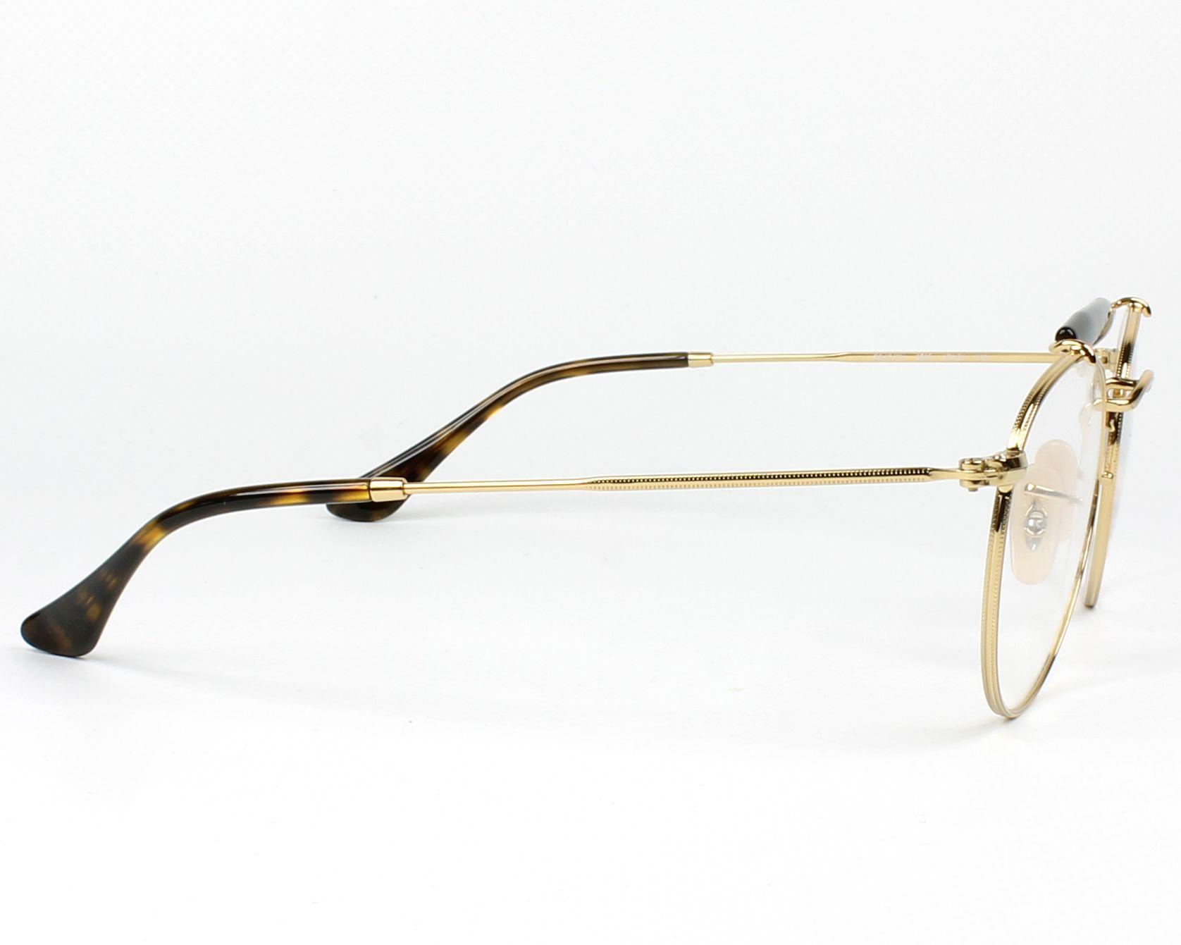 b634dc4b67 eyeglasses Ray-Ban RX-3747-V 2500 47-21 Gold Havana side