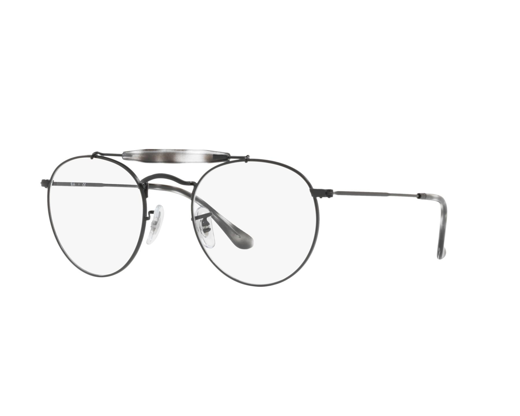361d1dcd94 eyeglasses Ray-Ban RX-3747-V 2760 47-21 Black Grey