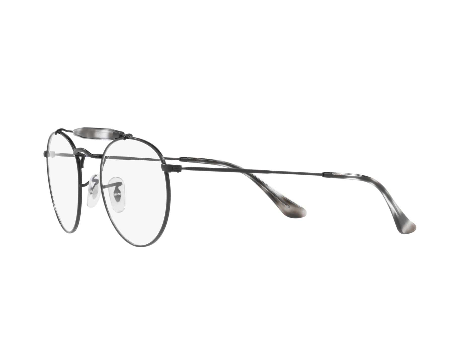 e38a23476a eyeglasses Ray-Ban RX-3747-V 2760 47-21 Black Grey 360