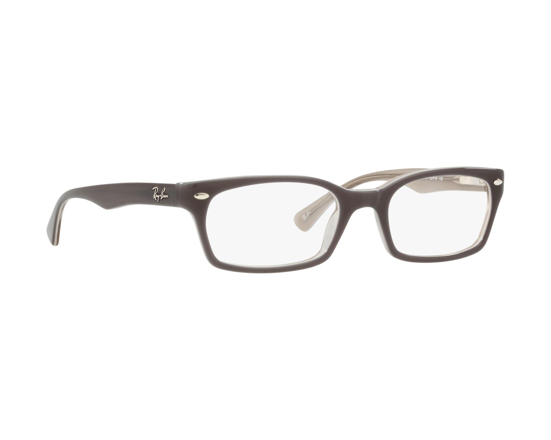 4e1bae42b6 eyeglasses Ray-Ban RX-5150 5778 50-19 Grey Crystal 360 degree view