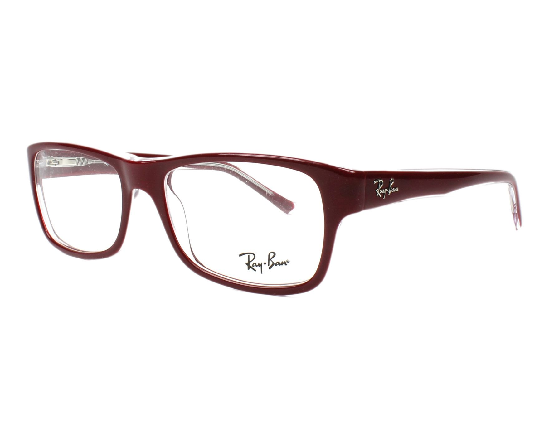 1628a6fc4ef ... cheapest eyeglasses ray ban rx 5268 5738 52 17 bordeaux profile view  9e98f 627f2