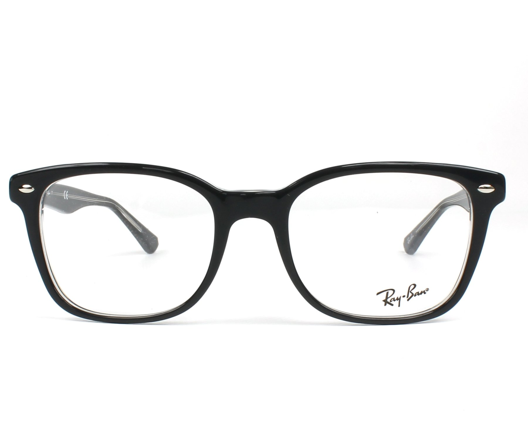 c957a5efc5 eyeglasses Ray-Ban RX-5285 5764 53-19 Grey Crystal front view