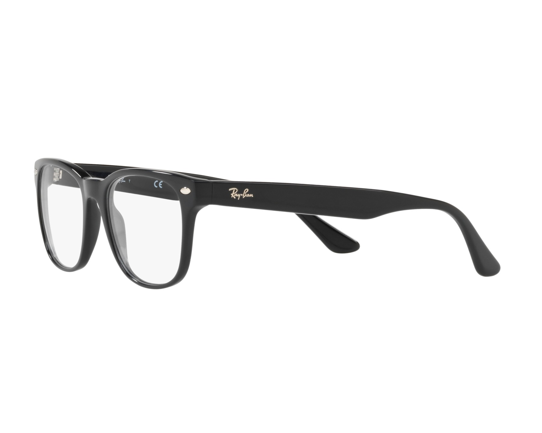 6a222a89b8 eyeglasses Ray-Ban RX-5359 2000 53-19 Black 360 degree view 3