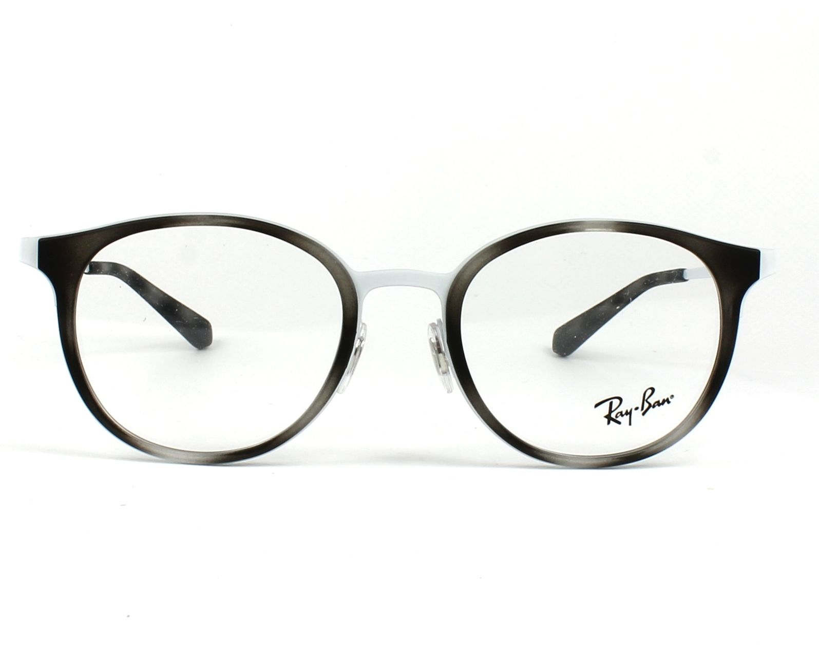 60c7f66d4529a eyeglasses Ray-Ban RX-6372-M 2957 50-19 Grey White front