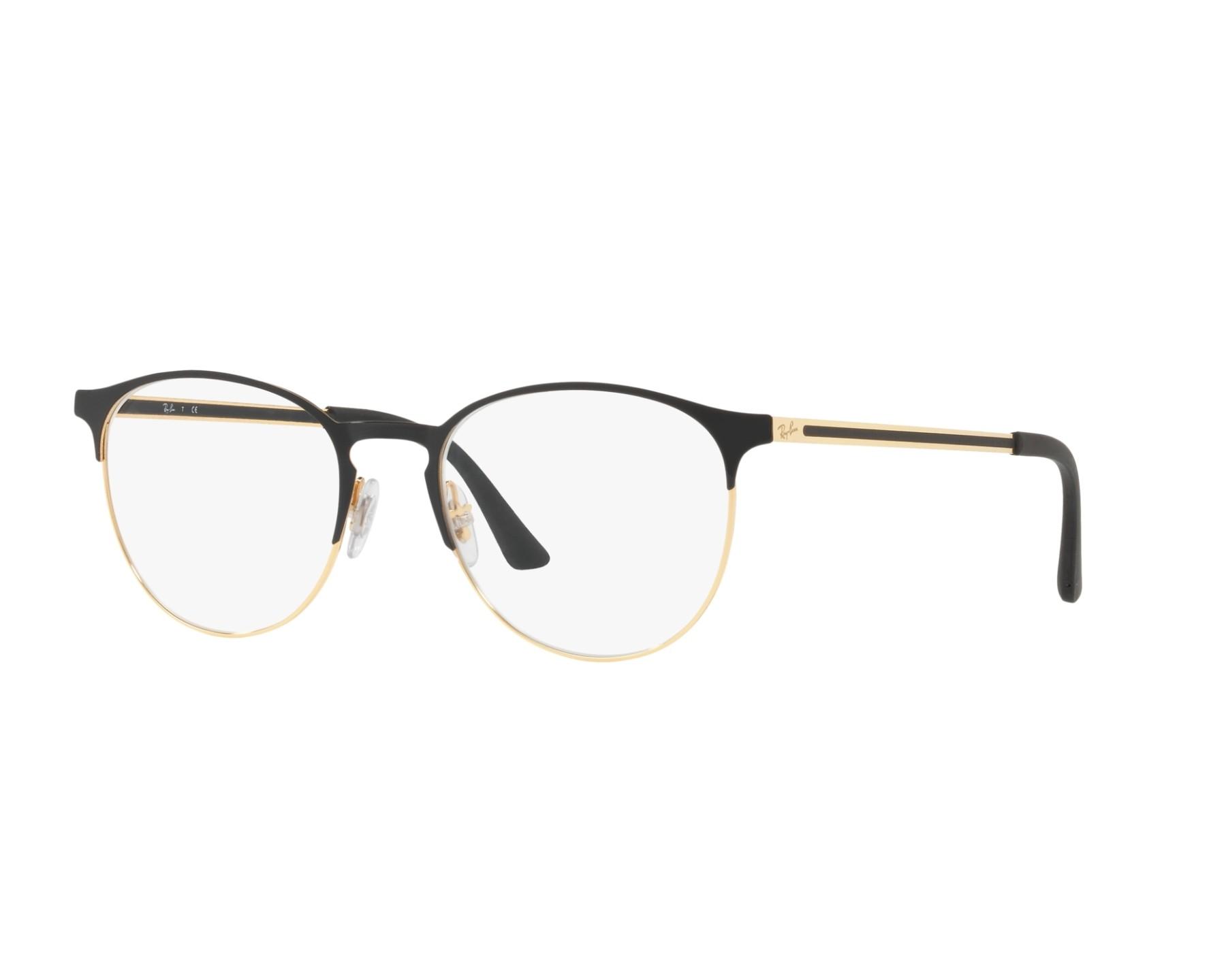 c6547636bd6 eyeglasses Ray-Ban RX-6375 2890 51-18 Black Gold