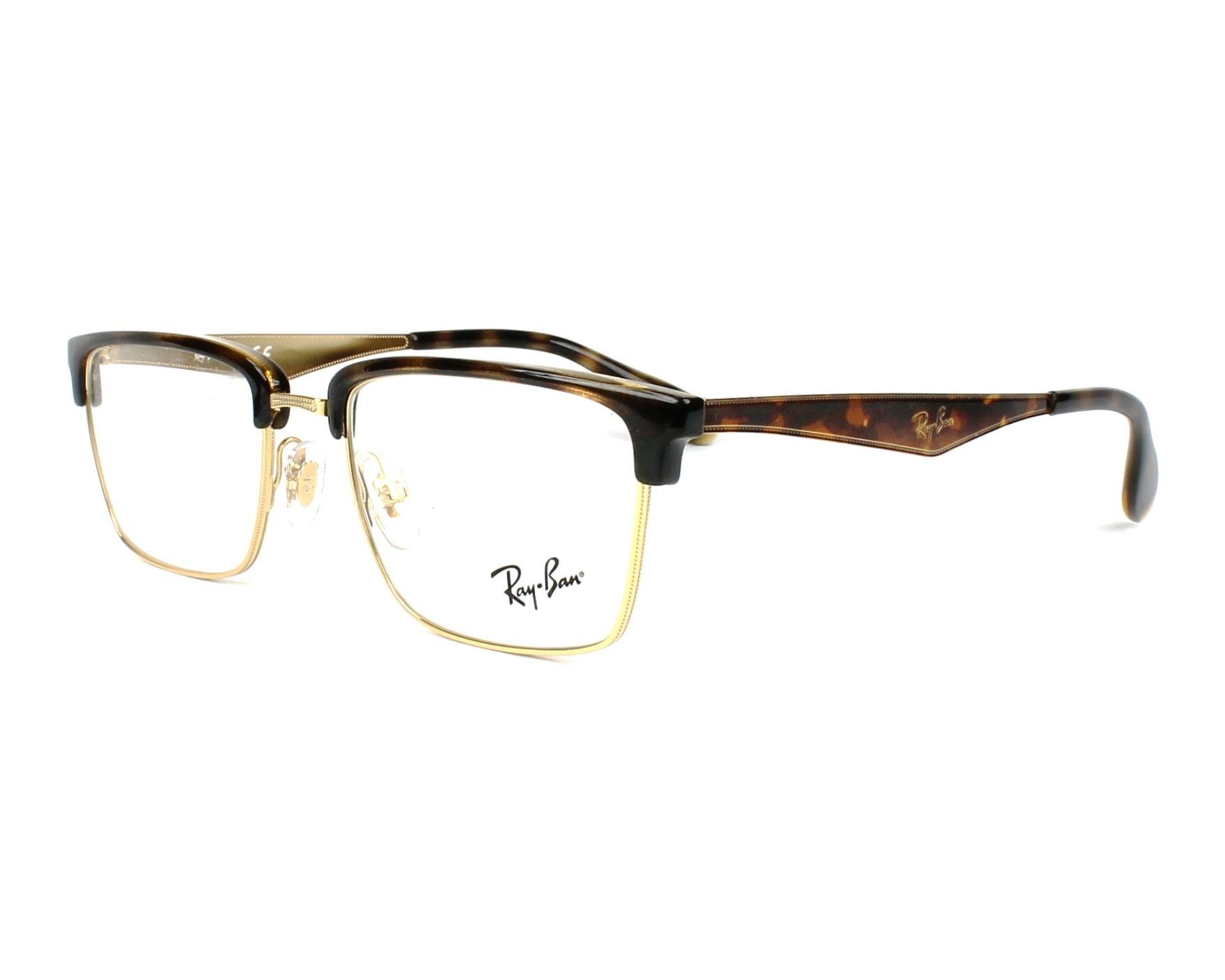 d897494b5ba eyeglasses Ray-Ban RX-6397 2933 - Havana Gold profile view