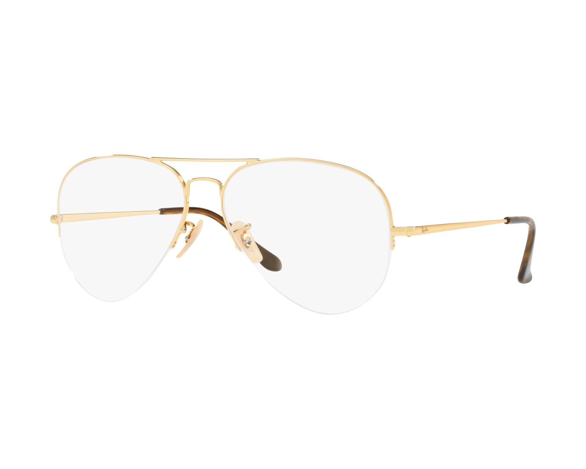 e0b3230e0ebd eyeglasses Ray-Ban RX-6589 2500 56-15 Gold