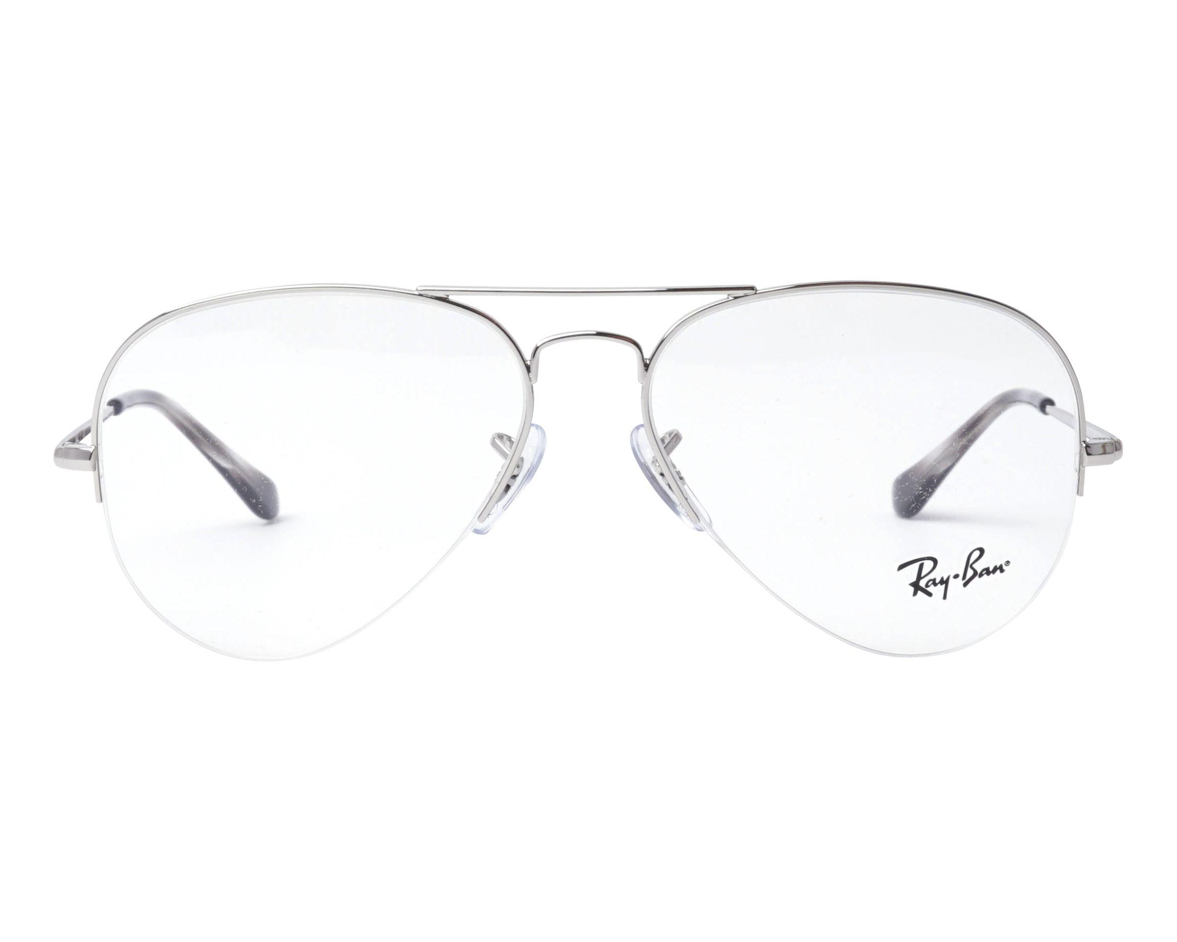 54c2cd6e0e0 eyeglasses Ray-Ban RX-6589 2501 - Silver front view