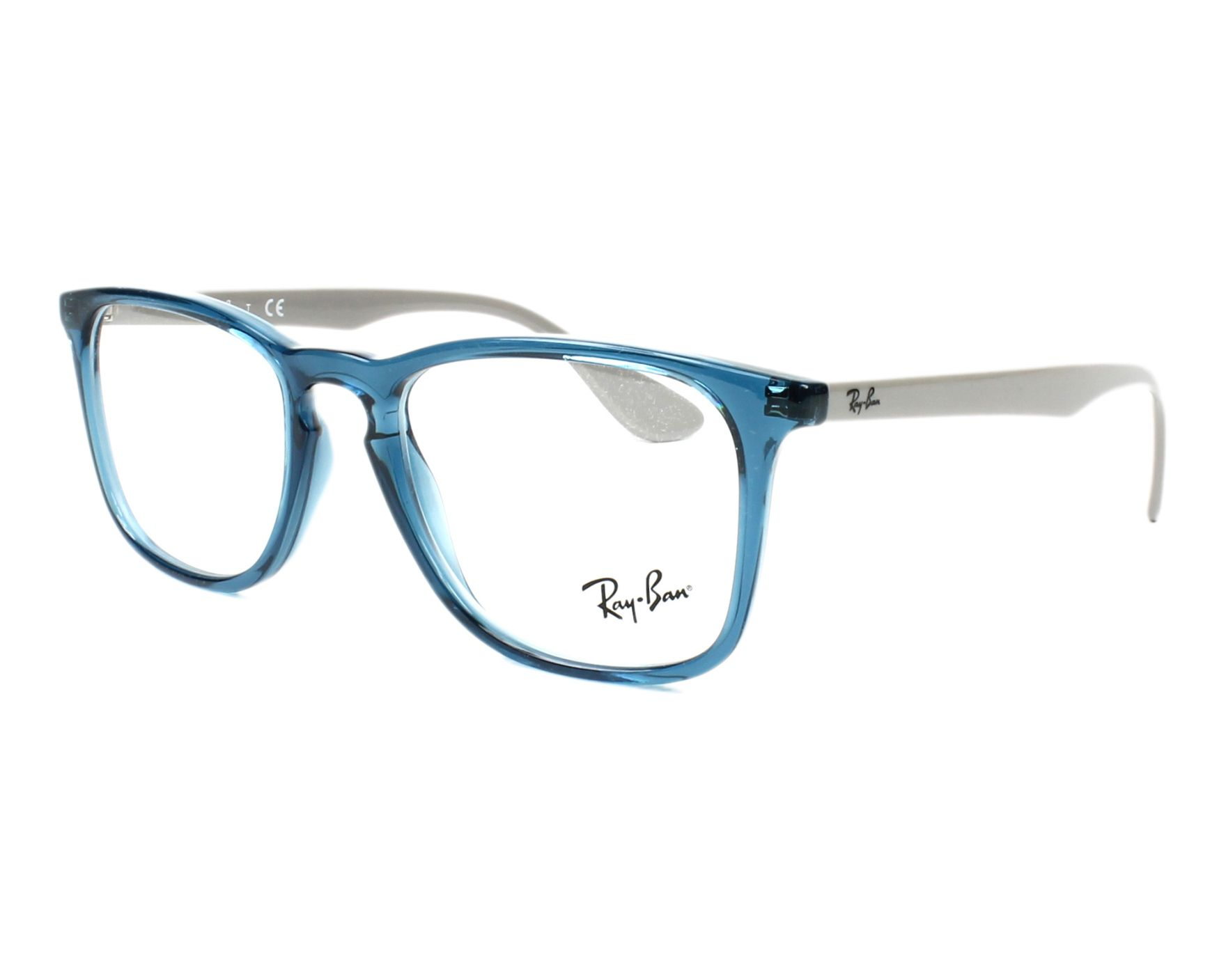 3ccb065ea2 eyeglasses Ray-Ban RX-7074 5732 - Blue Grey profile view