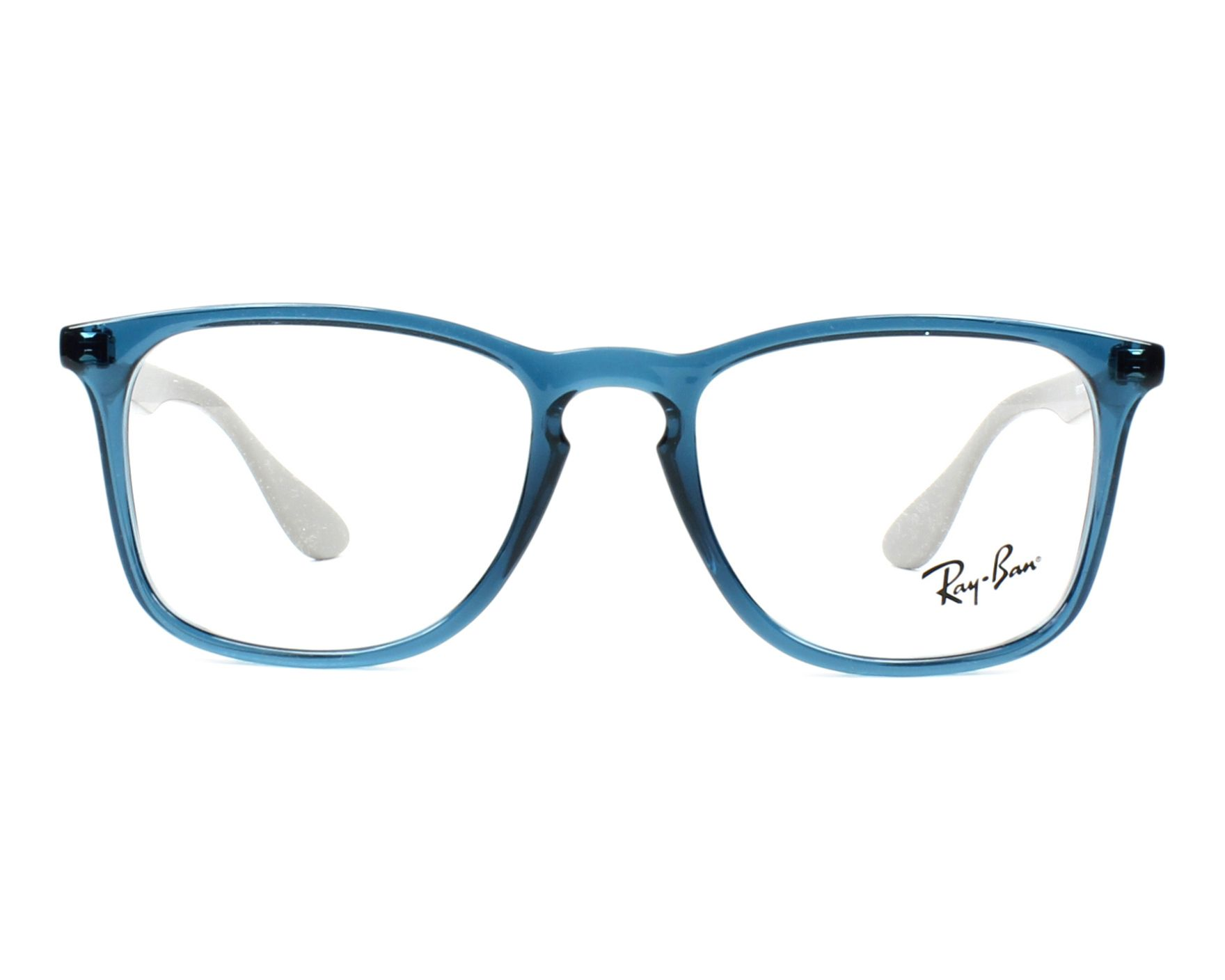 cedbf8358c eyeglasses Ray-Ban RX-7074 5732 - Blue Grey front view