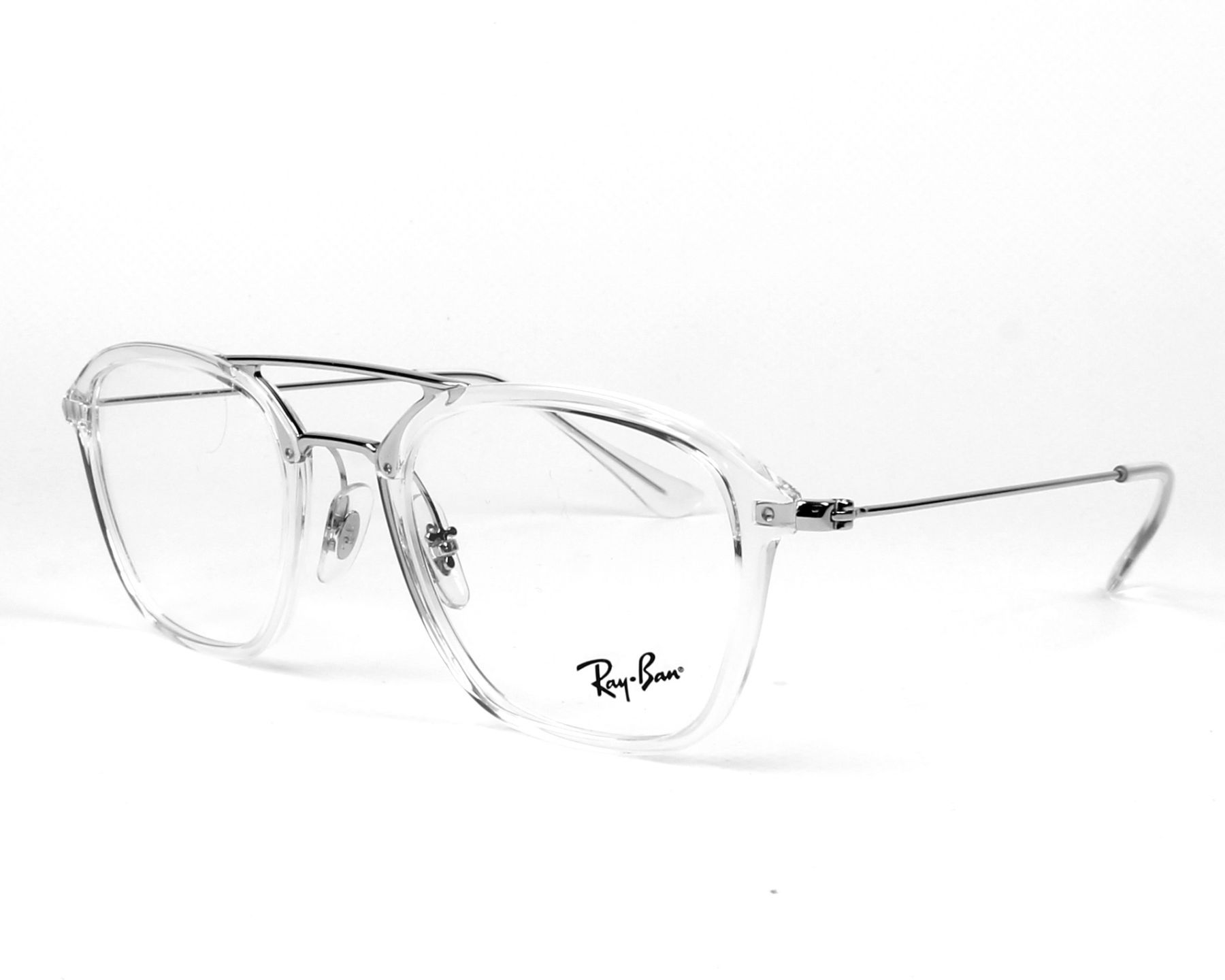 41947830c6 eyeglasses Ray-Ban RX-7098 2001 - Crystal Silver profile view