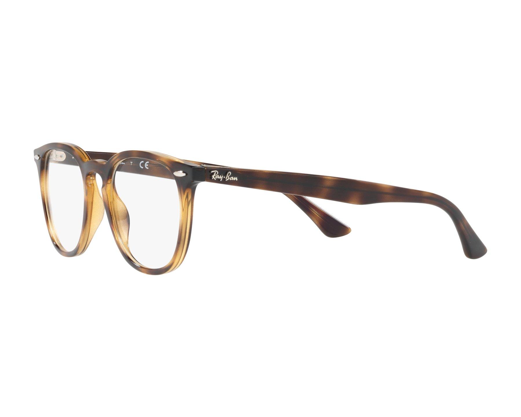 72e1e706460 eyeglasses Ray-Ban RX-7159 2012 50-20 Havana 360 degree view 3