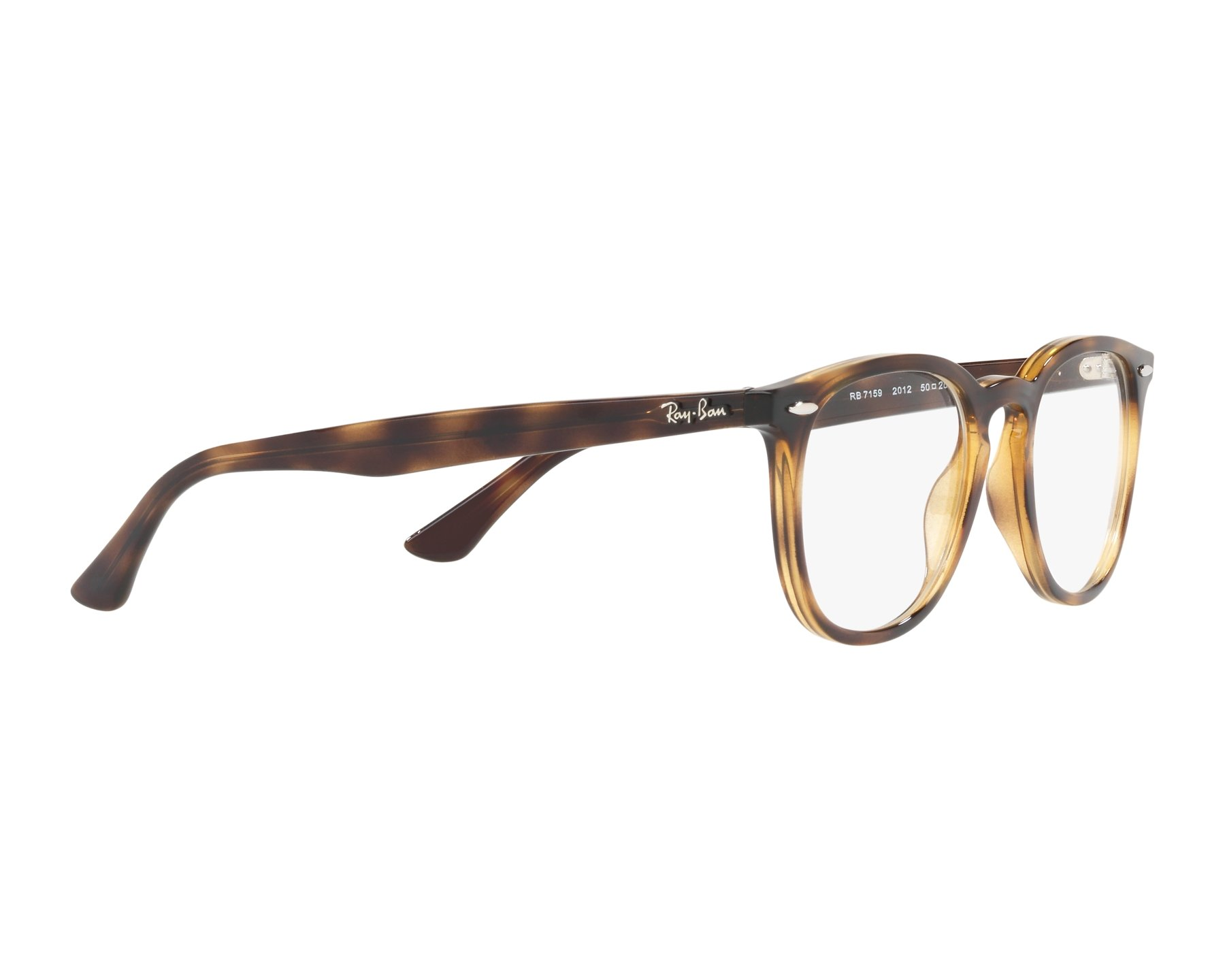 2056f105ddc eyeglasses Ray-Ban RX-7159 2012 50-20 Havana 360 degree view 11