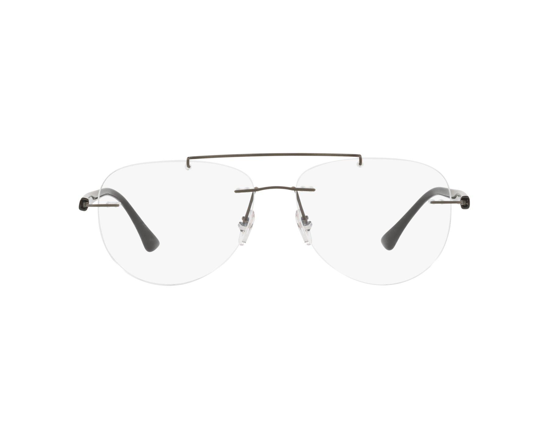 0d8dd508cc66 eyeglasses Ray-Ban RX-8749 1128 54-14 Grey Black 360 degree view
