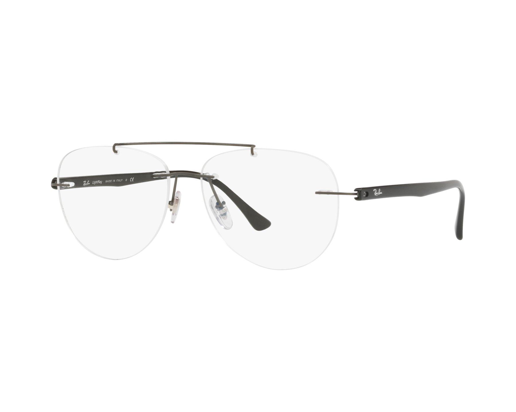 9ace8f2e0ca6 eyeglasses Ray-Ban RX-8749 1128 54-14 Grey Black
