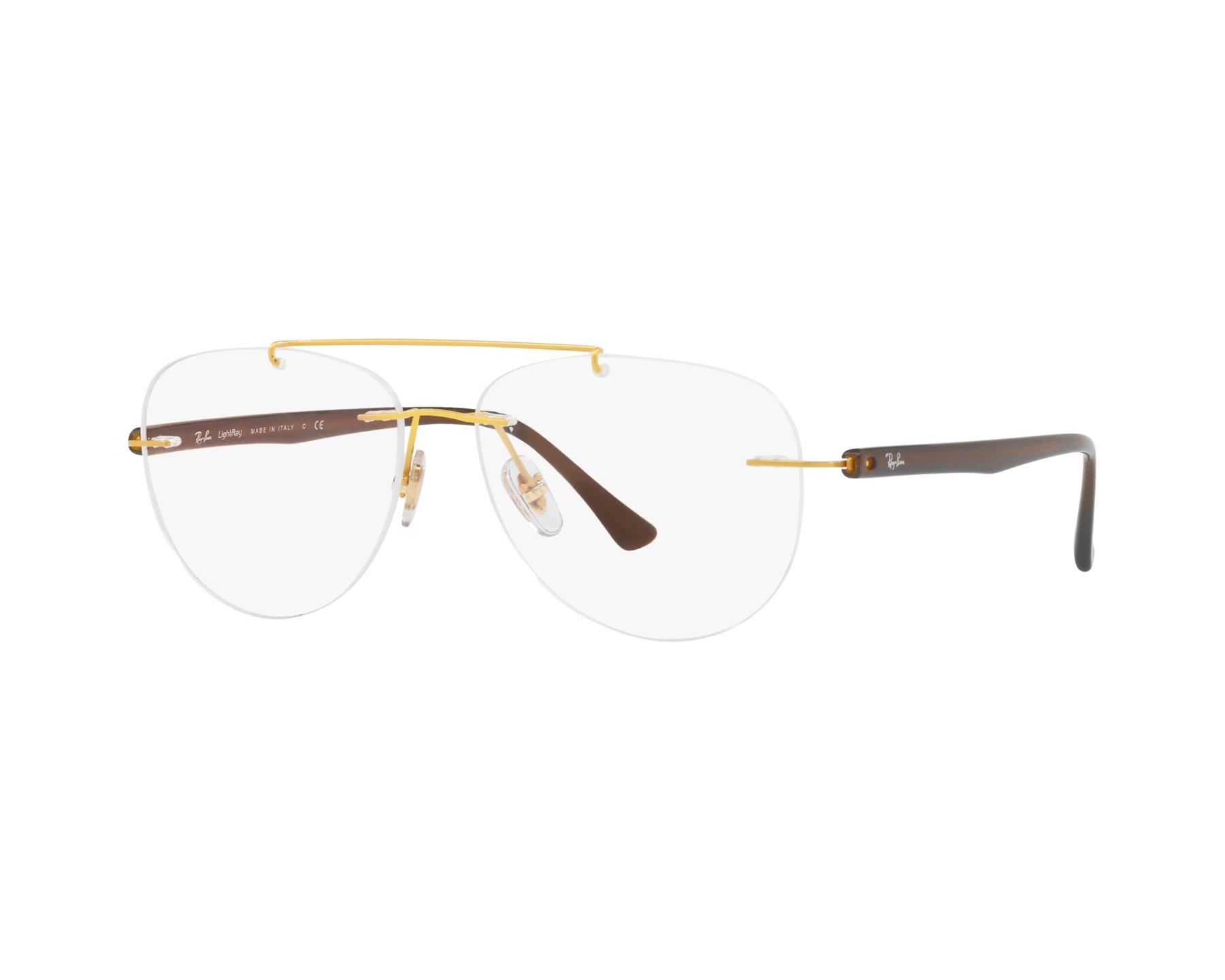 03cb4efc89 eyeglasses Ray-Ban RX-8749 1194 - Gold Brown
