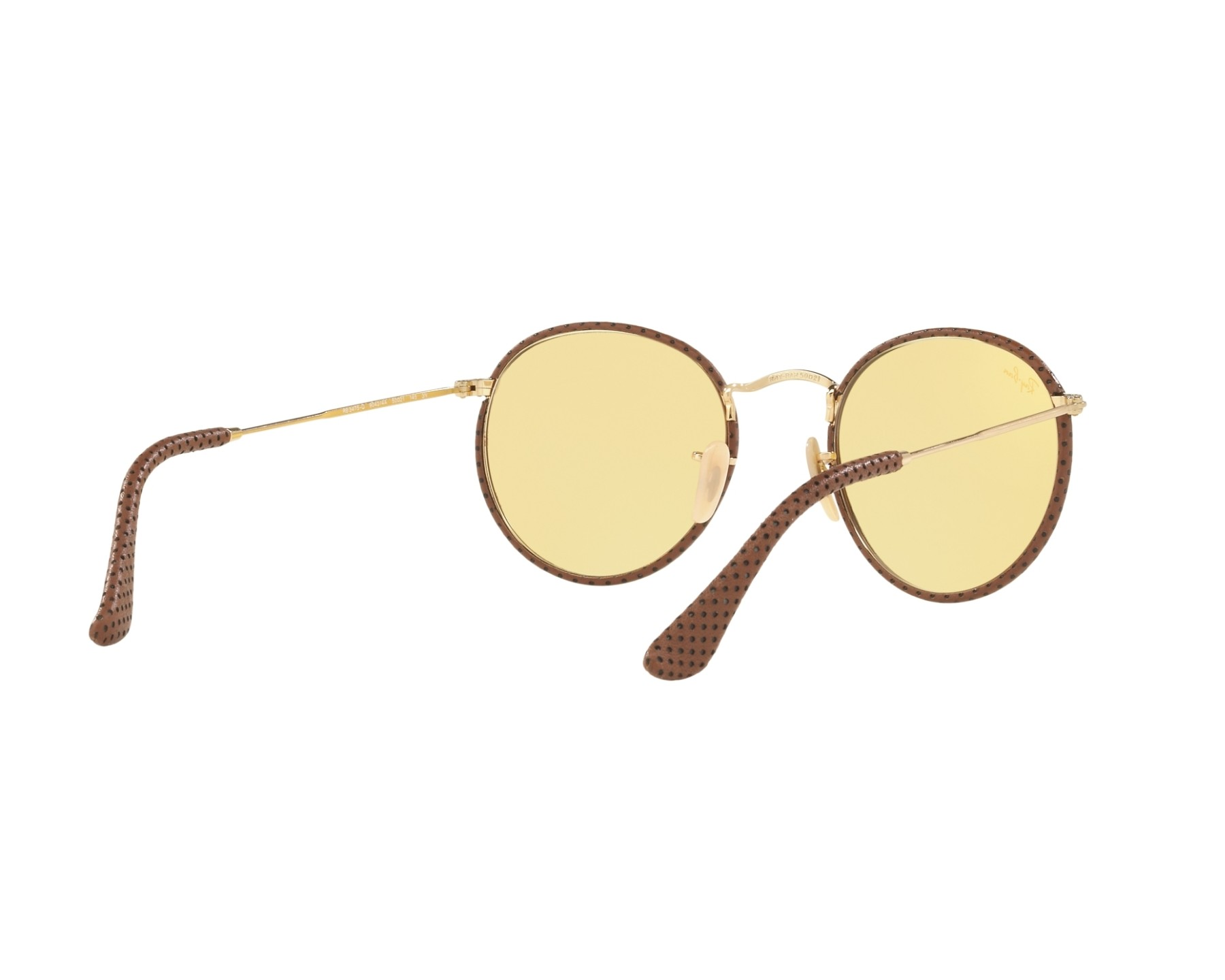3586899438 Sunglasses Ray-Ban RB-3475-Q 90424A 50-21 Gold Copper Brown