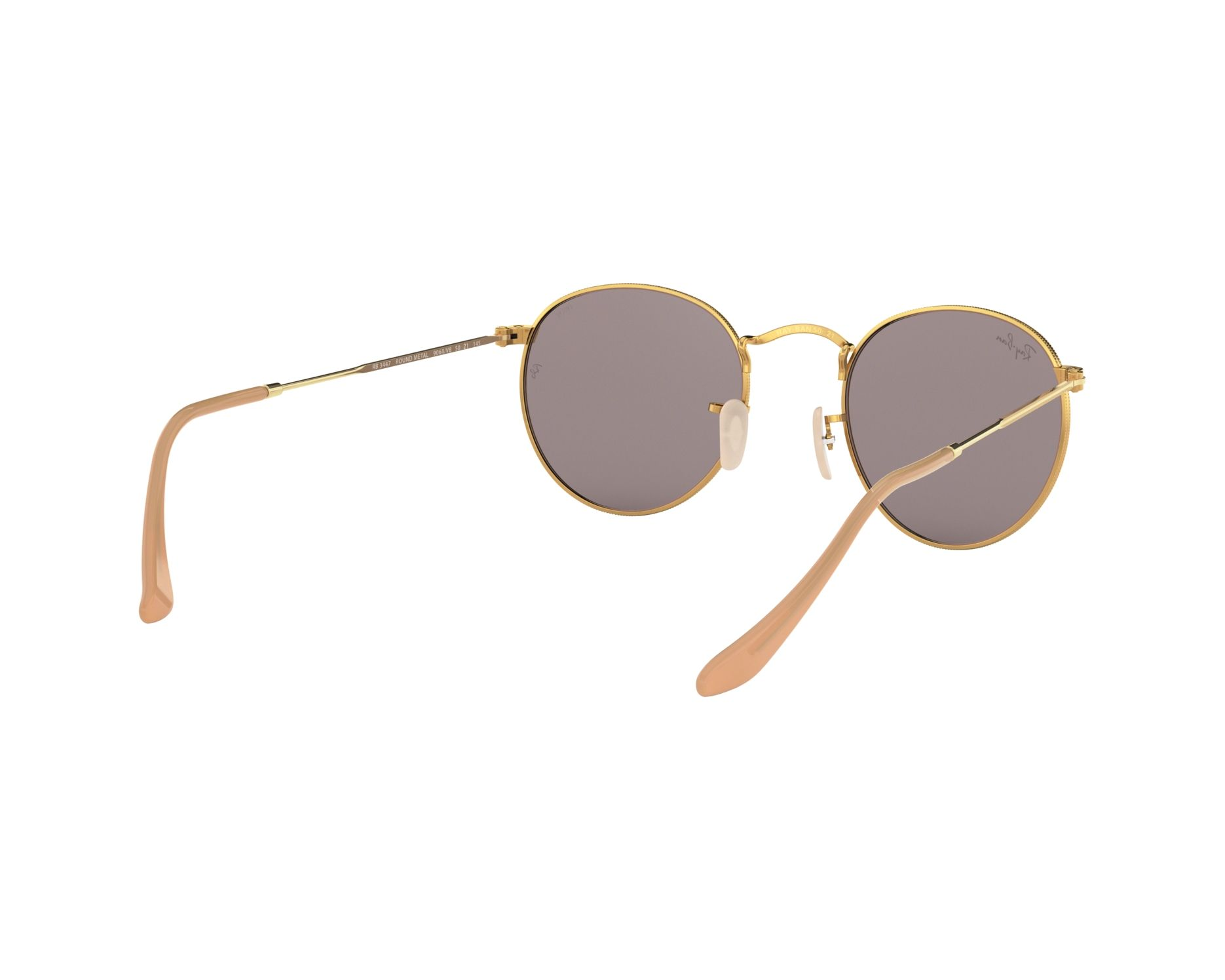 68787e4ec6 Ray-Ban Sunglasses RB-3447 9064V8 Gold with Blue Grey