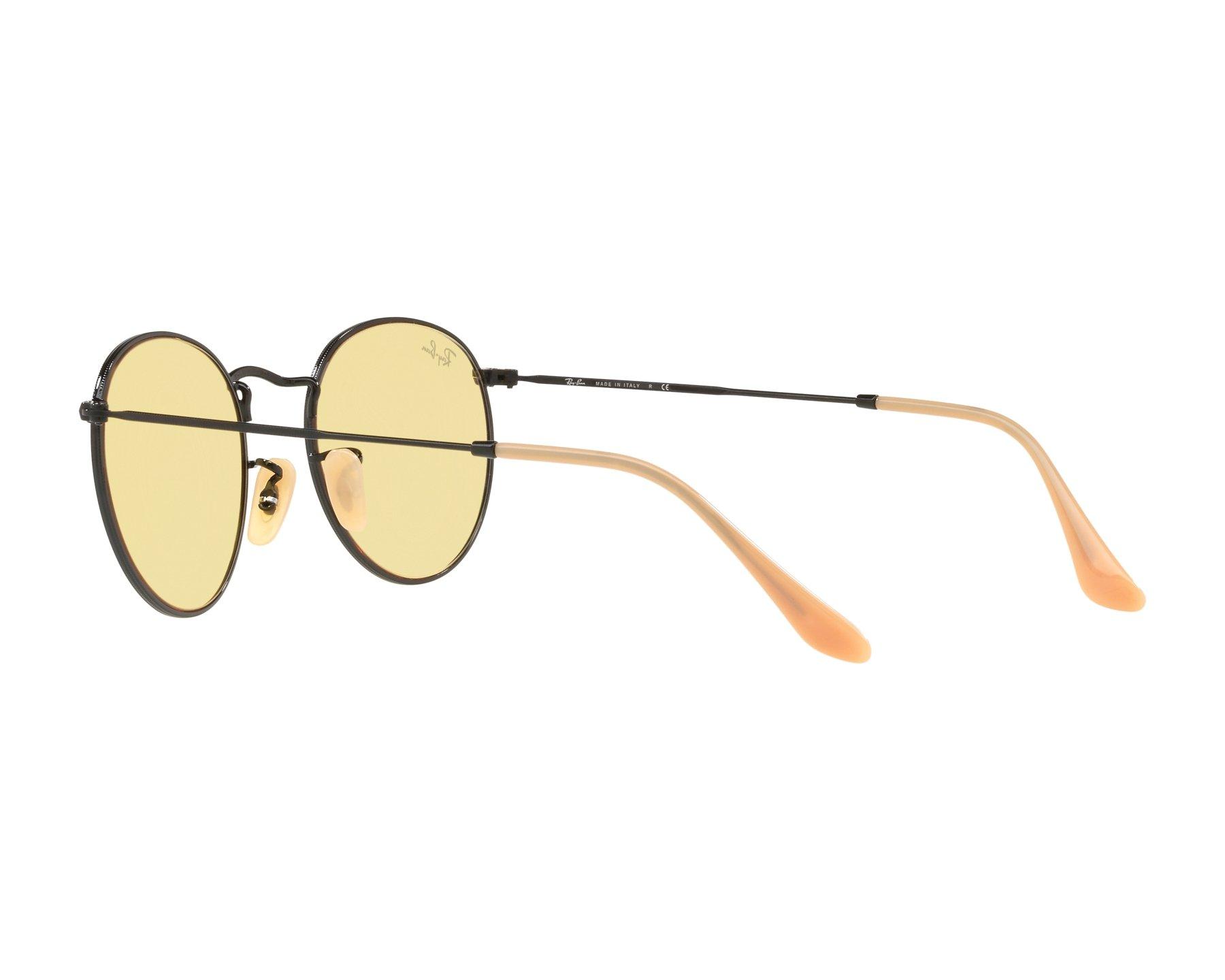 52dc3a52f48 ... Sunglasses Ray-Ban RB-3447 90664A 50-21 Black 360 degree view 5 ...