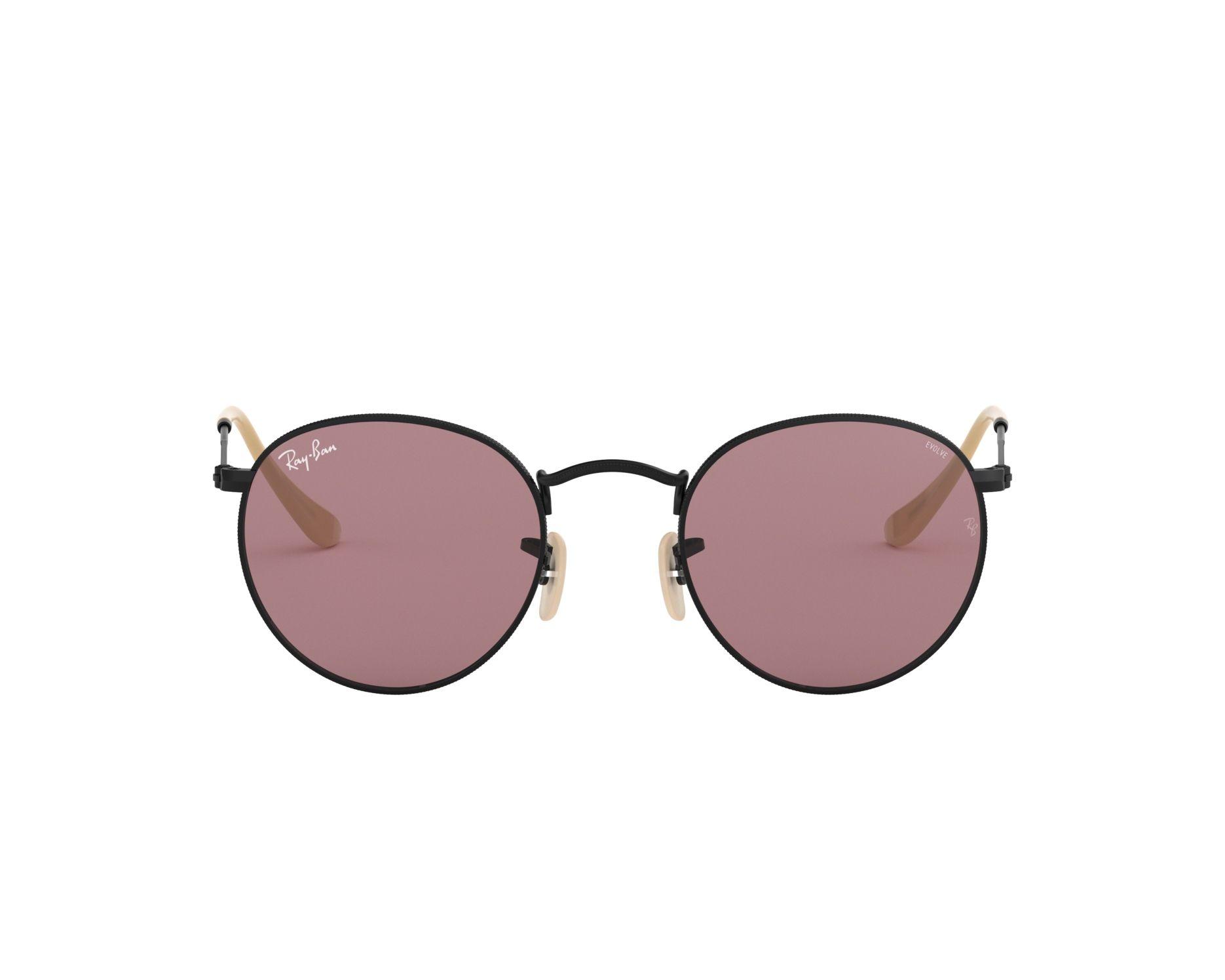de81ed053 Sunglasses Ray-Ban RB-3447 9066Z0 50-21 Black 360 degree view 1