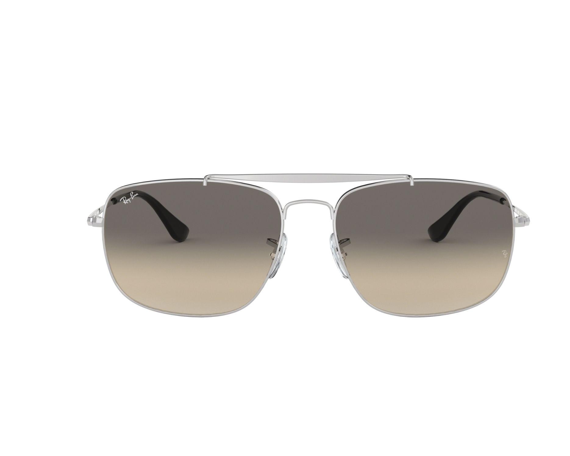 338b363a65c Sunglasses Ray-Ban RB-3560 003 32 58-17 Silver 360 degree