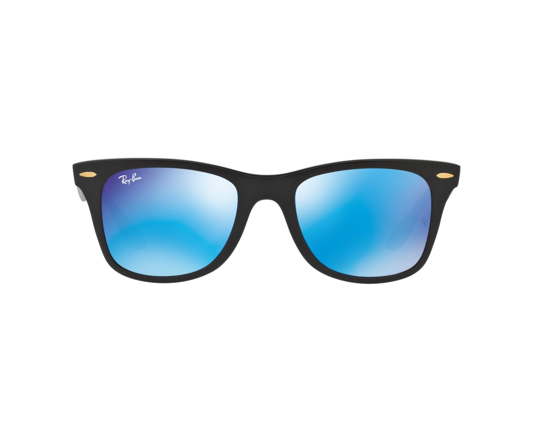 e4ae249418 Sunglasses Ray-Ban RB-4195 631855 52-20 Black 360 degree view 1