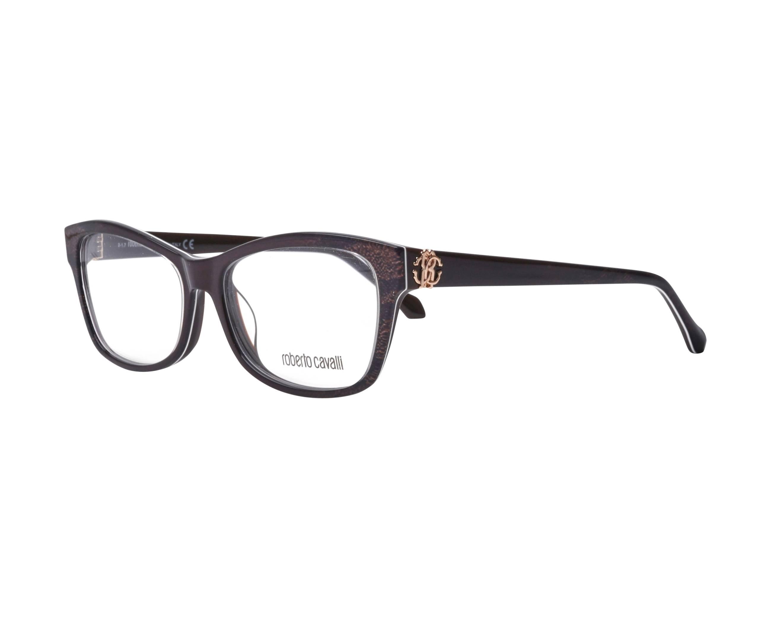 2c65e787f5 eyeglasses Roberto Cavalli RC-5013 050 54-15 Brown Brown profile view