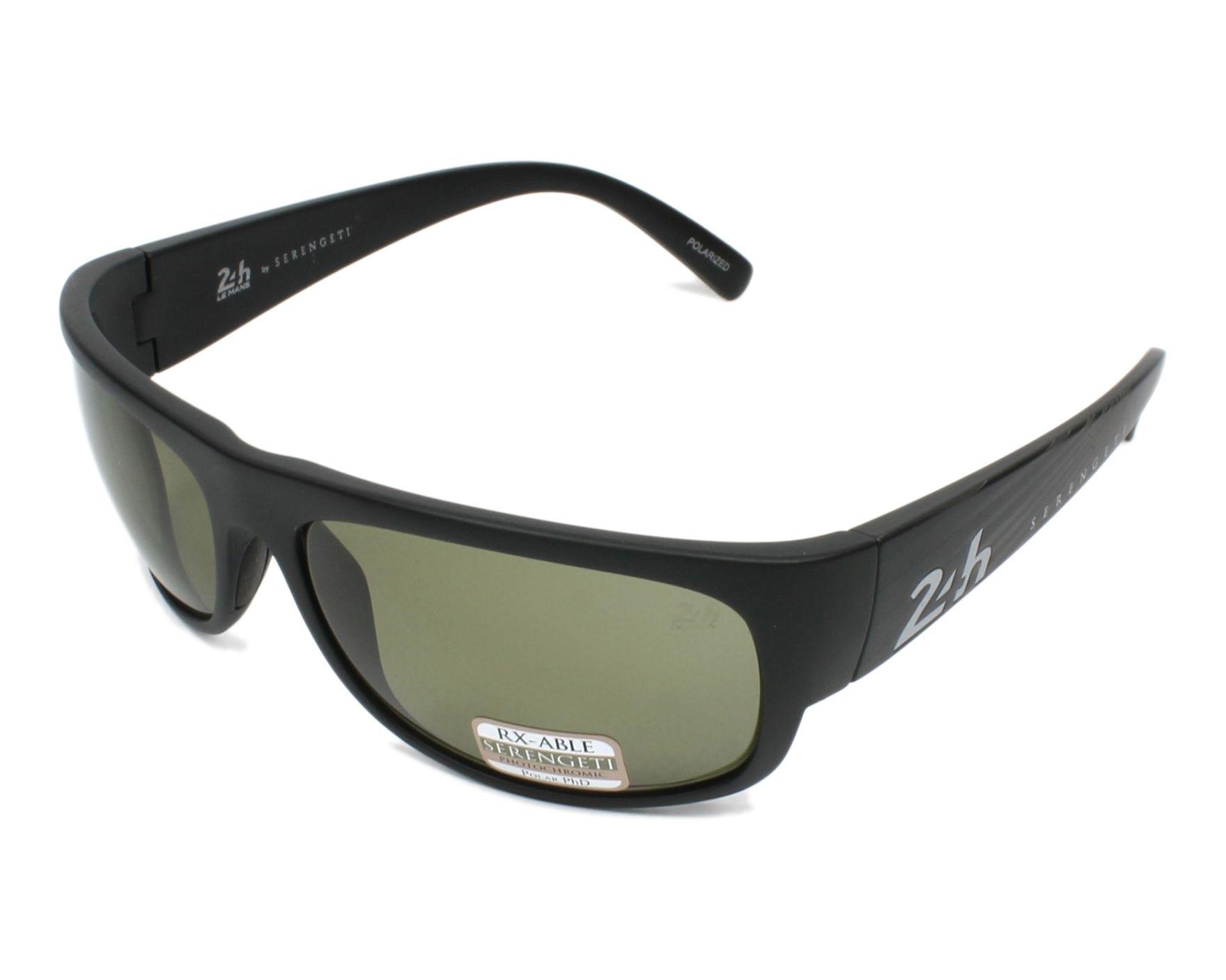 11f05796bc Sunglasses Serengeti 13629-KM 8493 62-18 Black profile view
