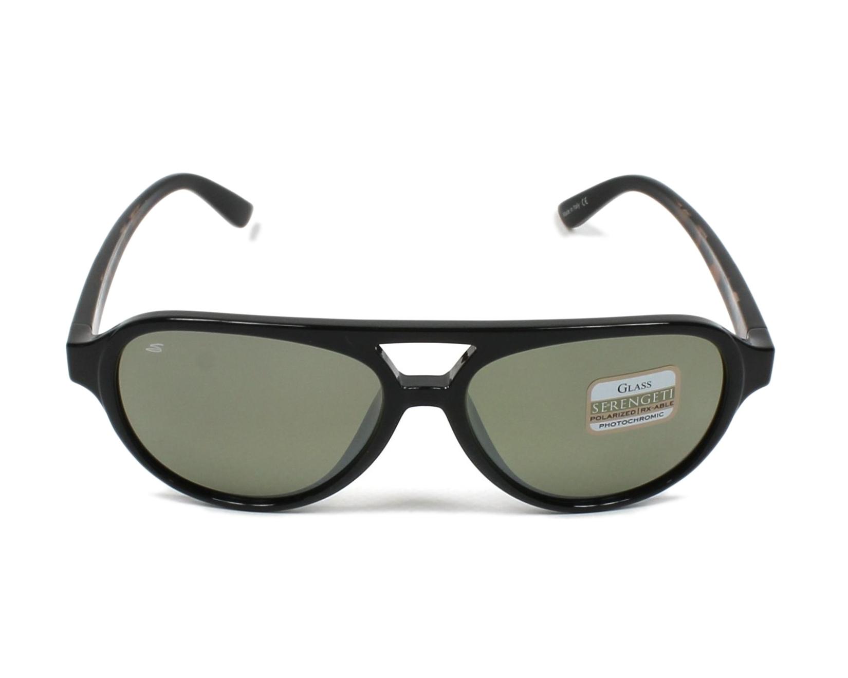 1a4b71dd86a Sunglasses Serengeti GIORGIO 8181 58-16 Black front view