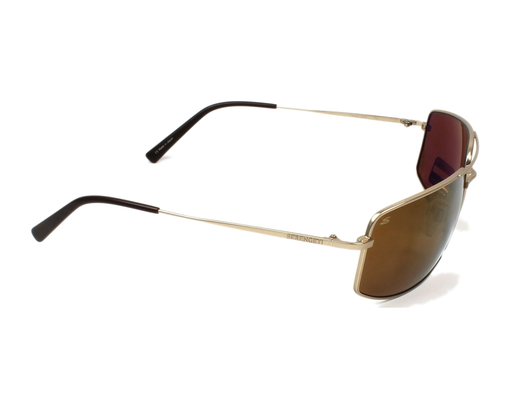 7a3a413f11 Sunglasses Serengeti TREVISO 8306 - Gold side view