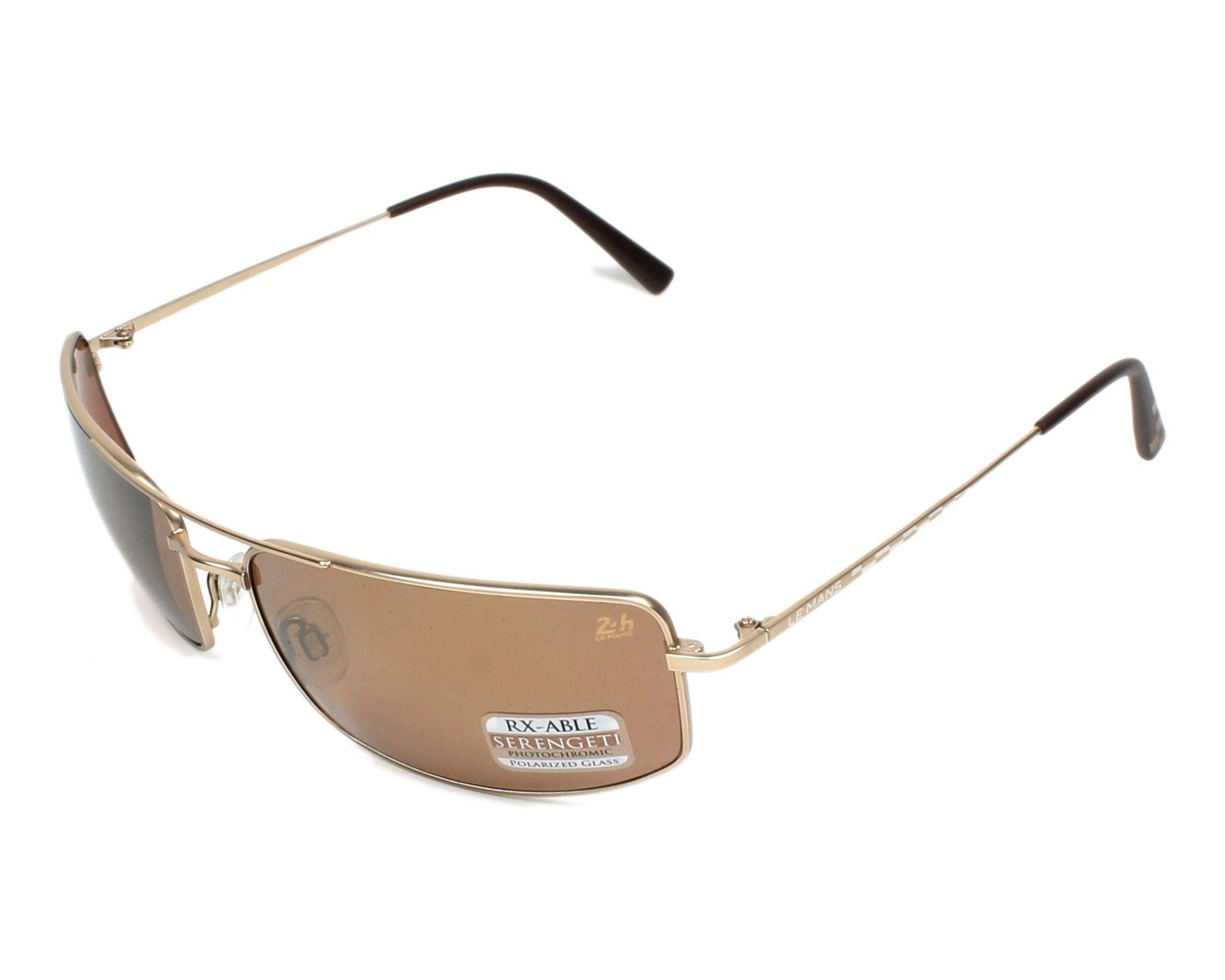 6889d25562 Sunglasses Serengeti TREVISO 8484 65-17 Gold profile view
